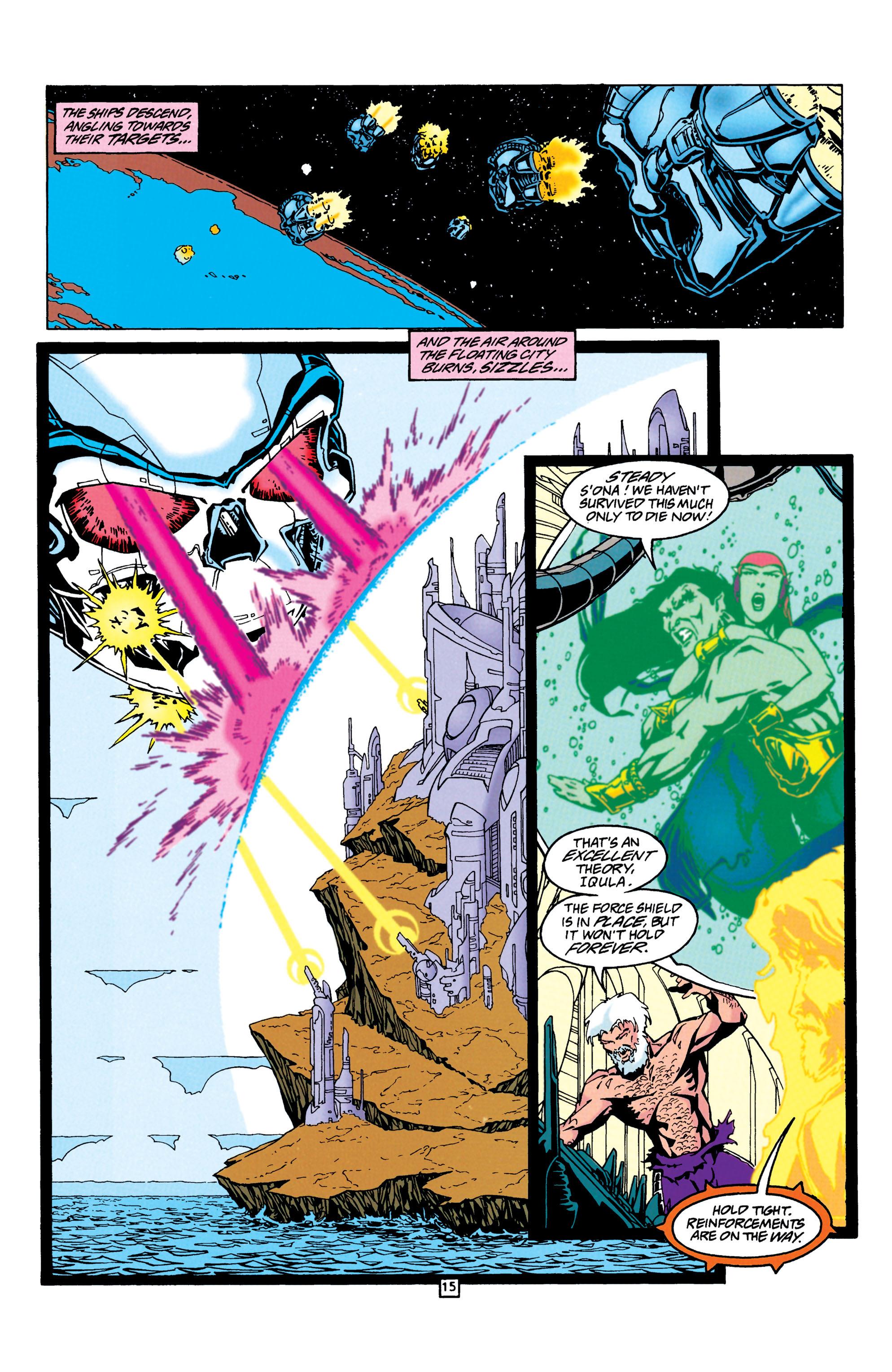 Read online Aquaman (1994) comic -  Issue #24 - 16
