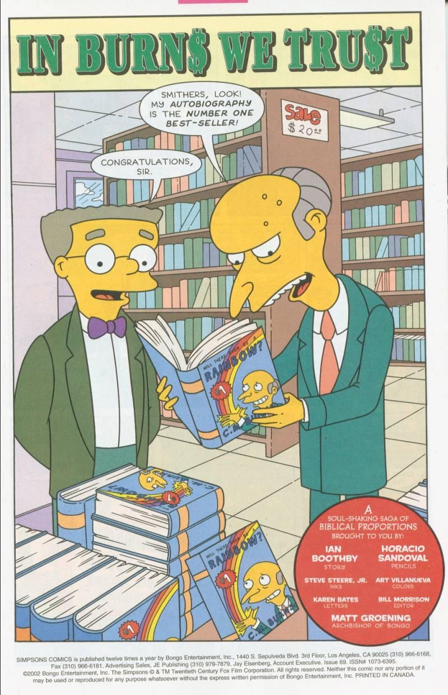 Read online Simpsons Comics comic -  Issue #69 - 2