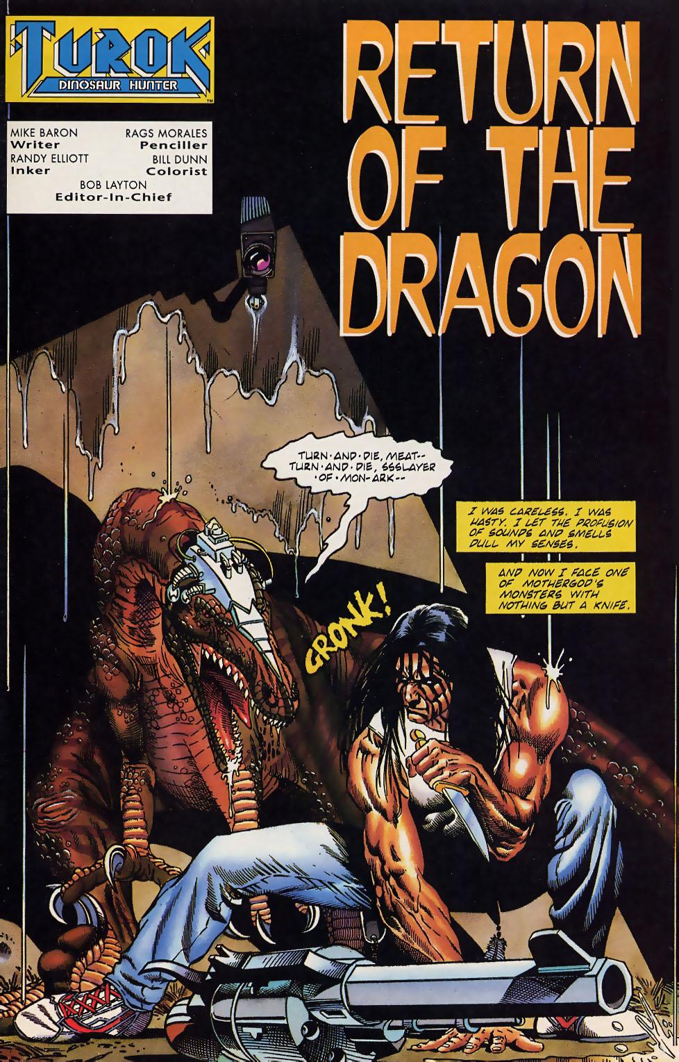 Read online Turok, Dinosaur Hunter (1993) comic -  Issue #12 - 2