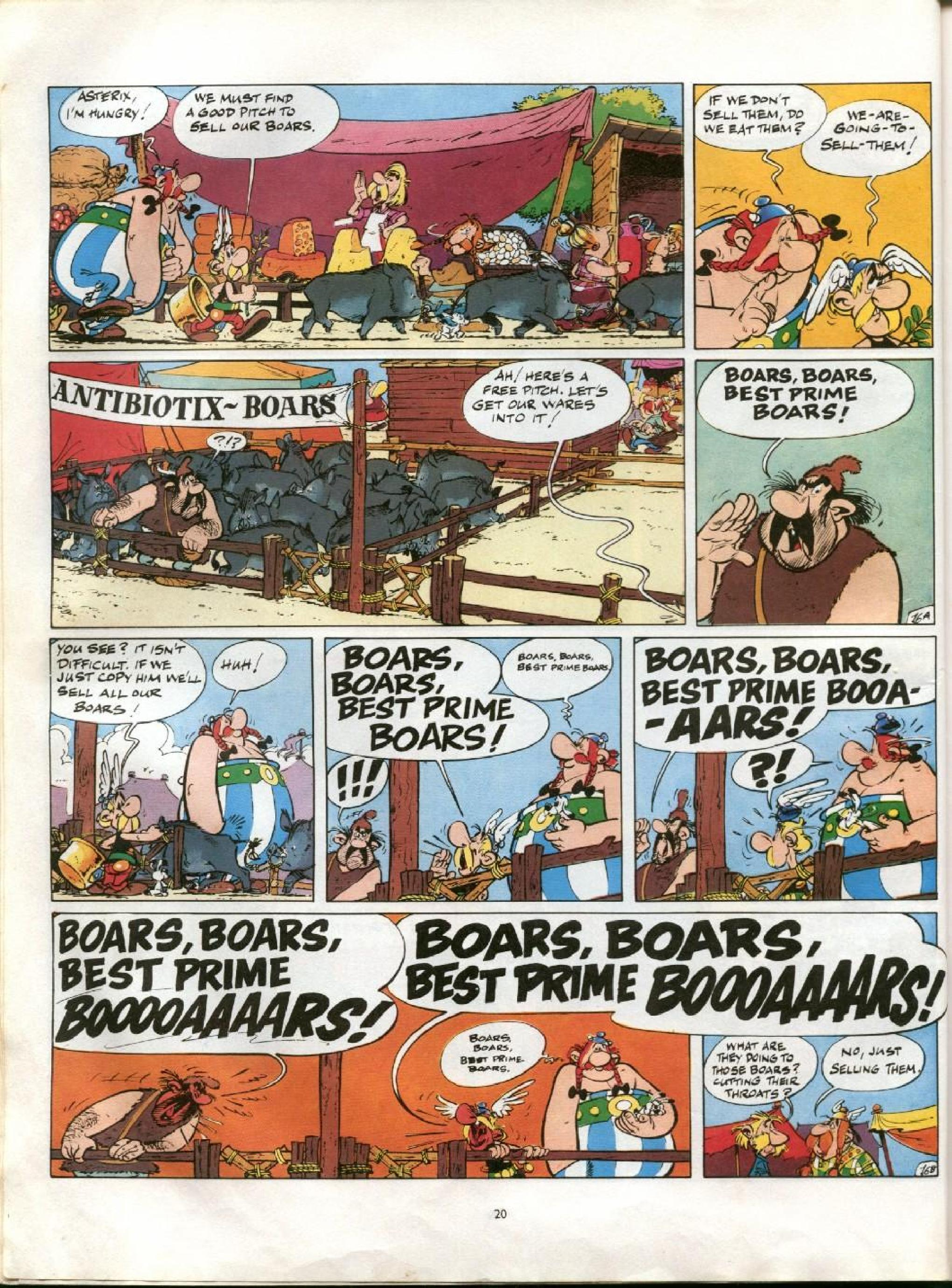 Read online Asterix comic -  Issue #13 - 17