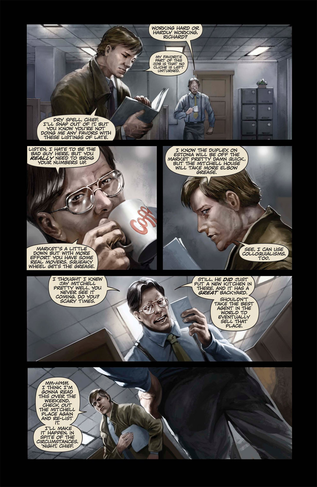 Read online Abattoir comic -  Issue #1 - 12