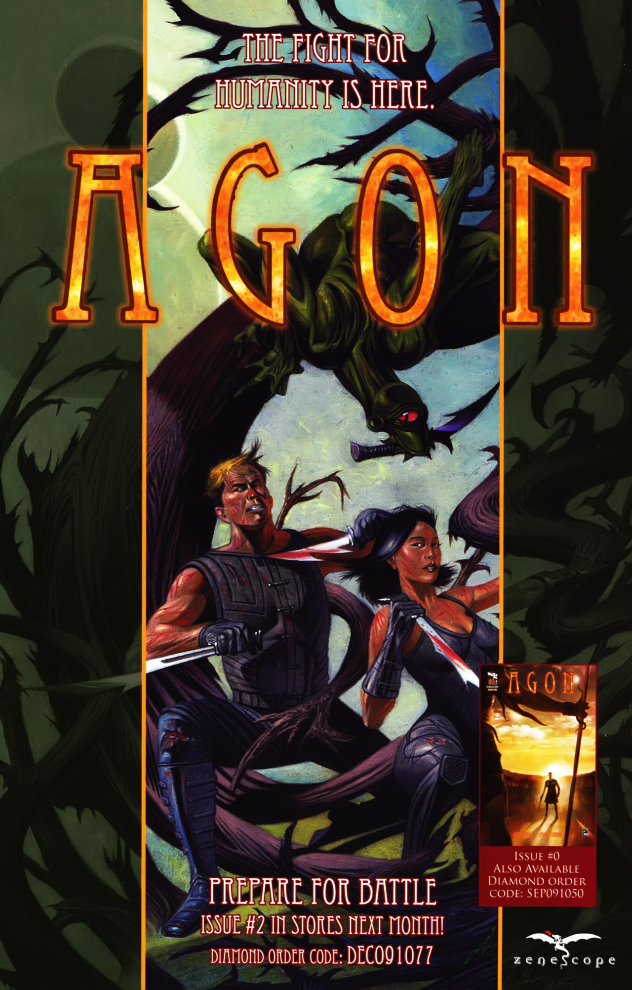 Read online Agon comic -  Issue #1 - 26