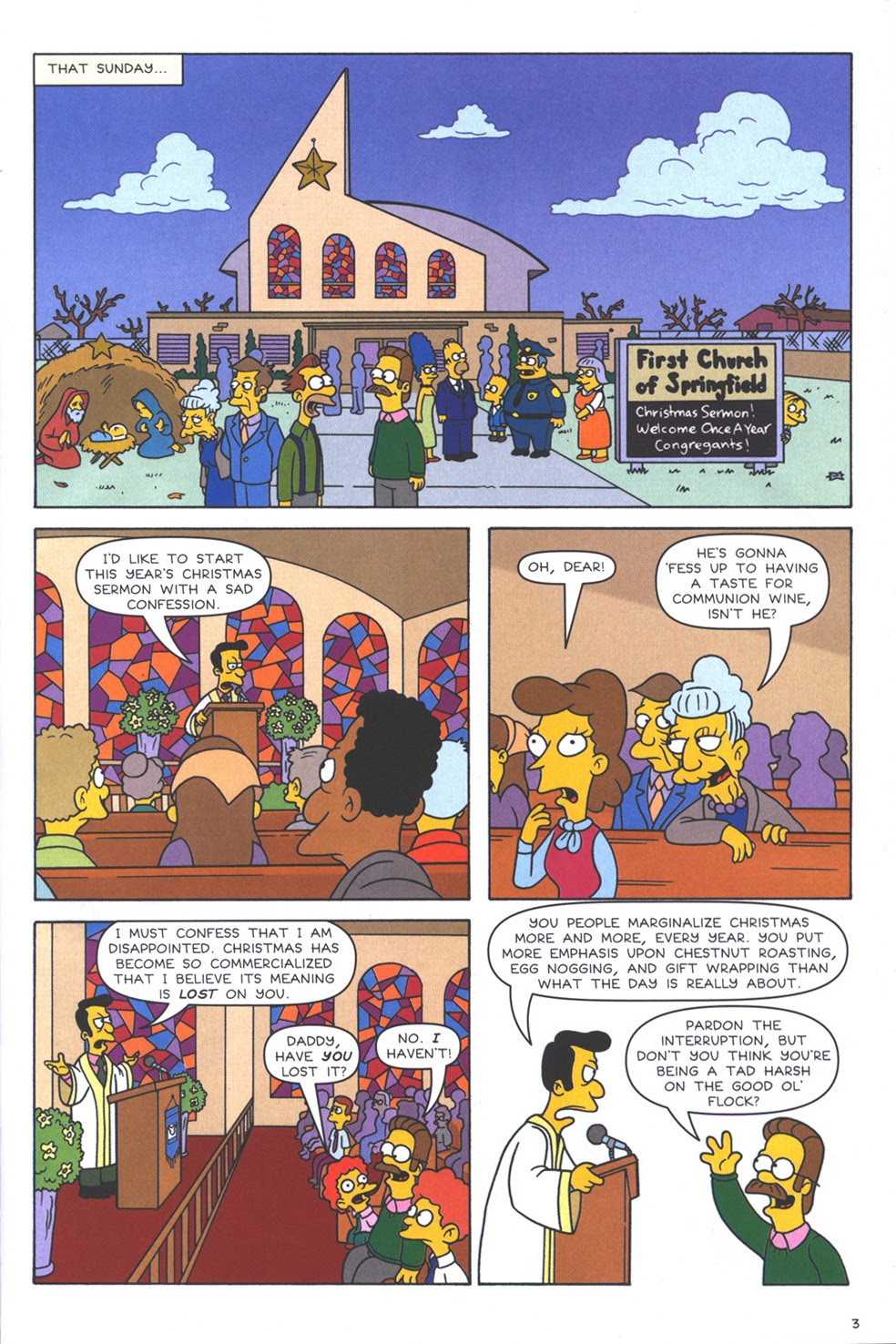 Read online The Simpsons Winter Wingding comic -  Issue #3 - 5