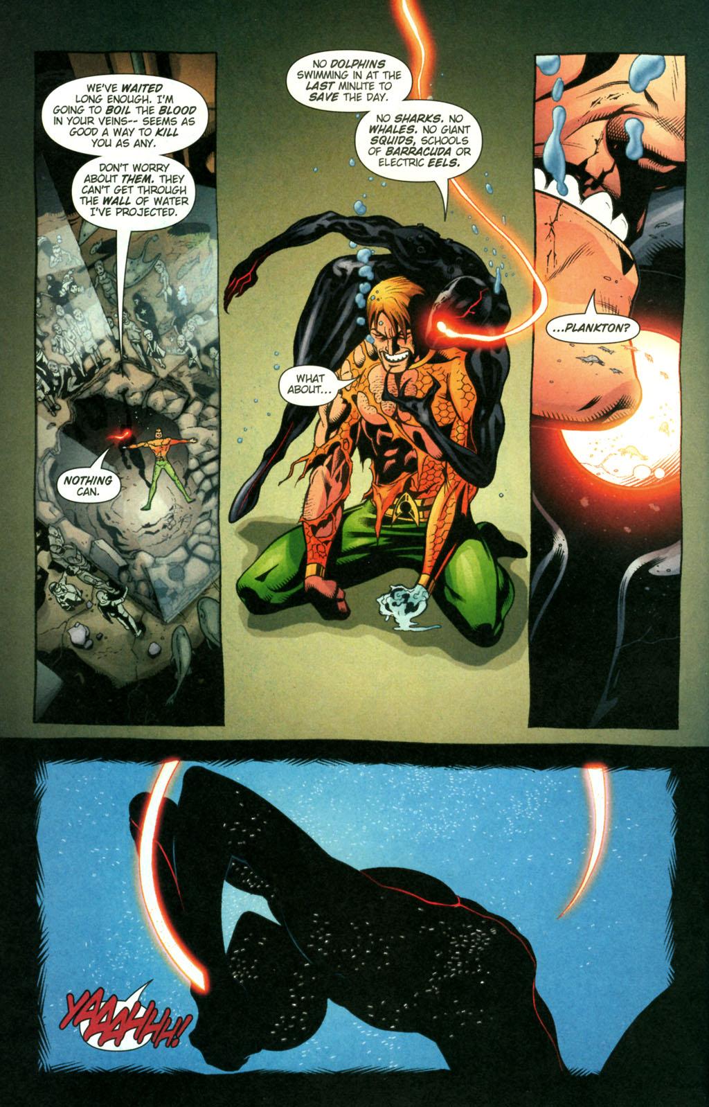 Read online Aquaman (2003) comic -  Issue #22 - 20