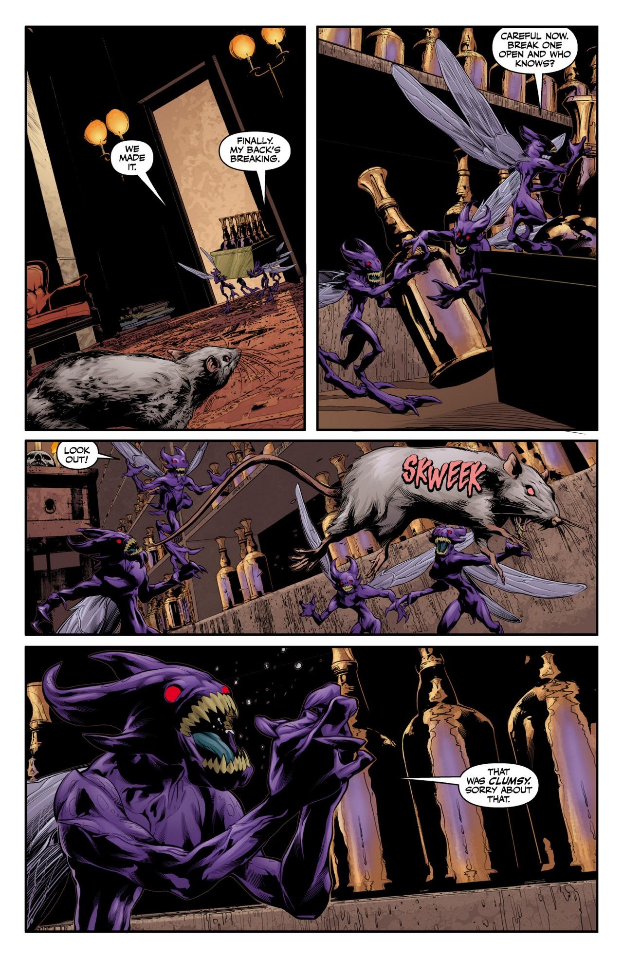 Read online Angel & Faith Season 10 comic -  Issue #4 - 23