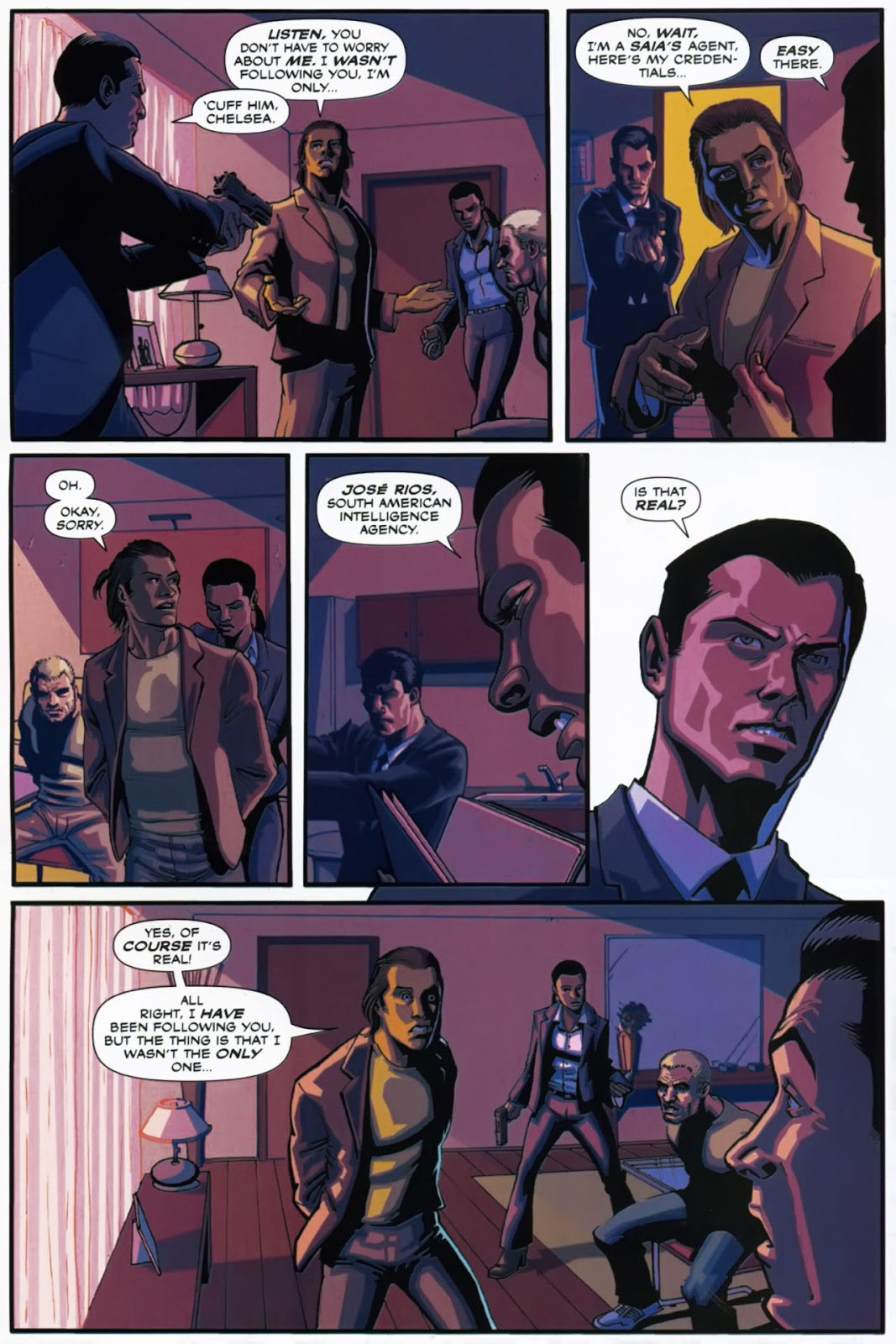 Read online Lazarus (2007) comic -  Issue #1 - 19