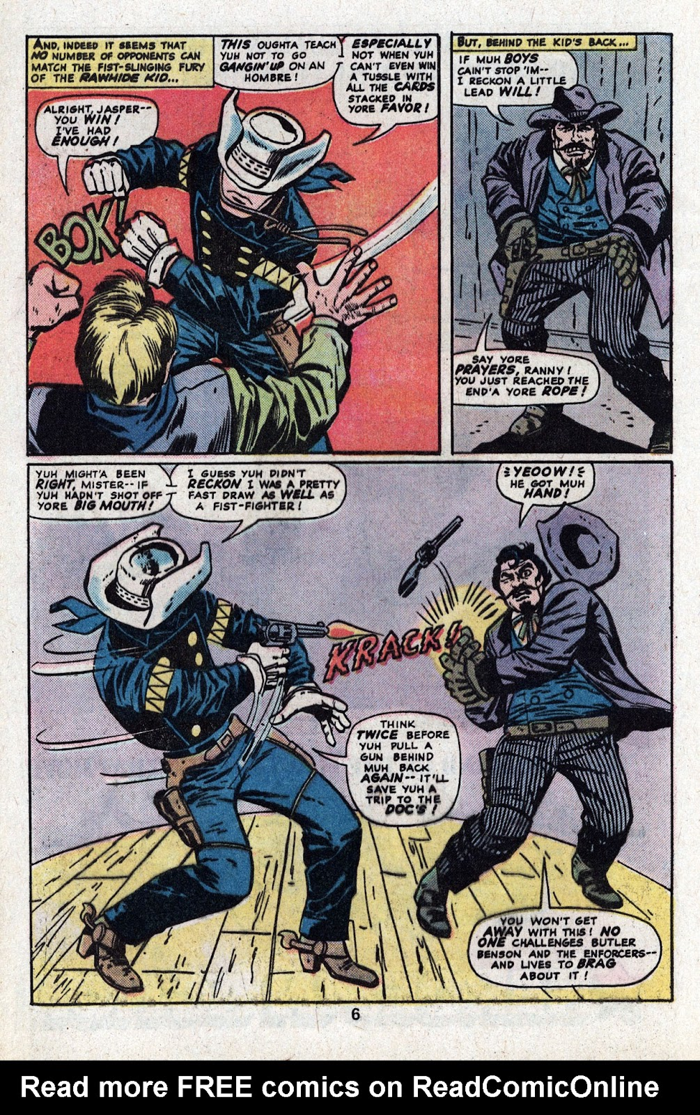 The Rawhide Kid (1955) issue 130 - Page 8