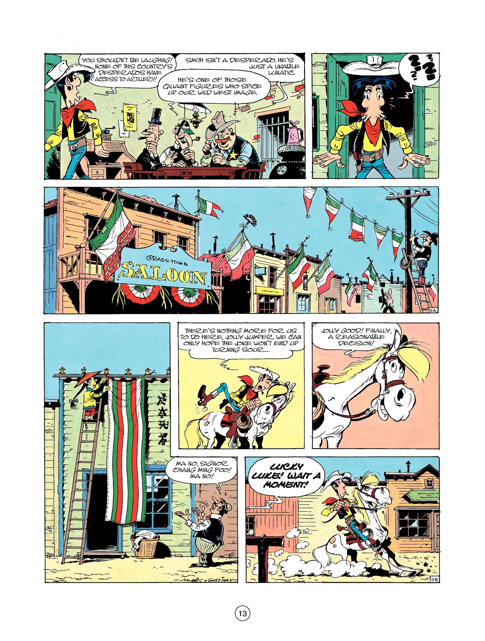 Read online A Lucky Luke Adventure comic -  Issue #22 - 13
