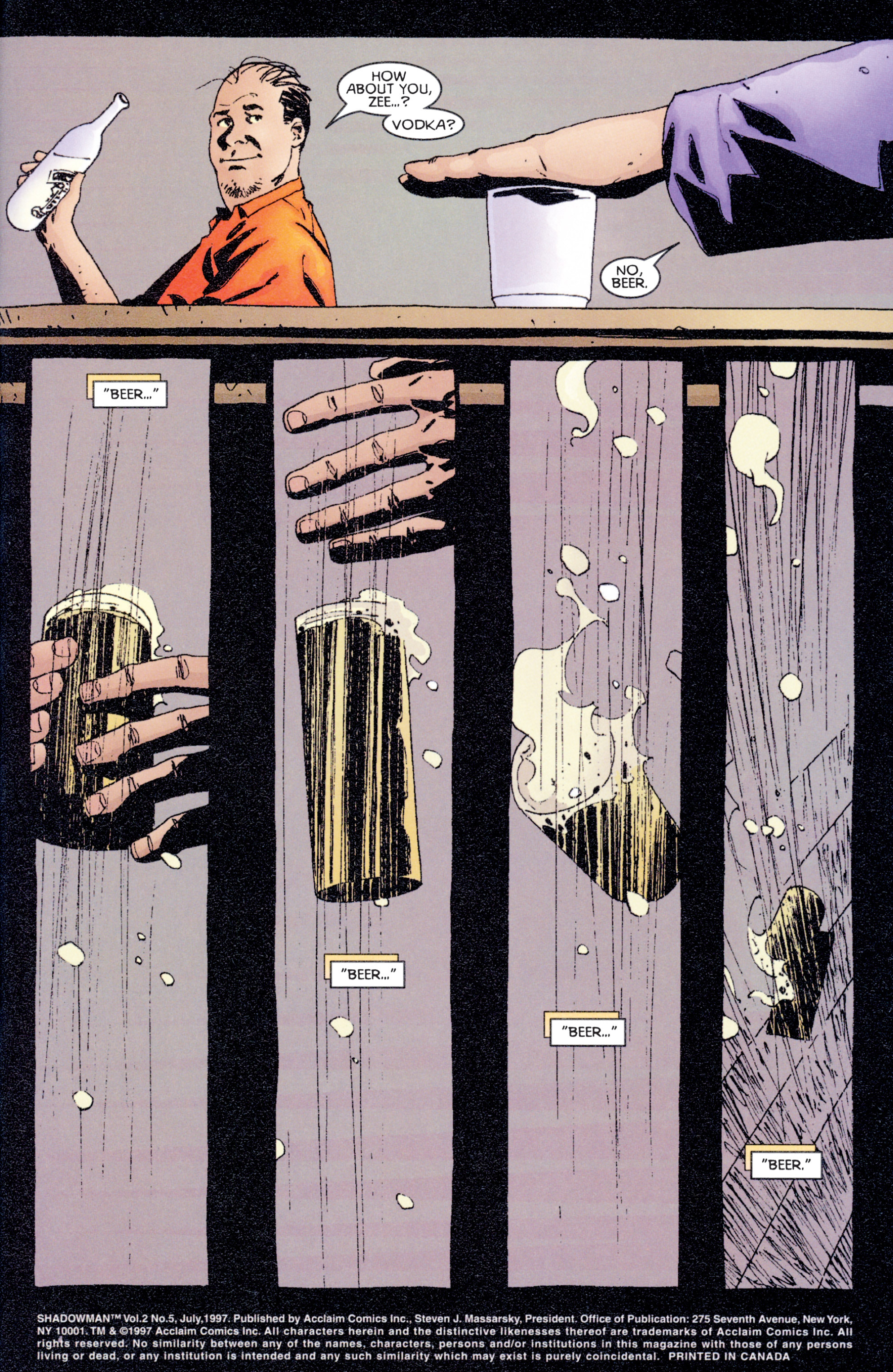 Read online Shadowman (1997) comic -  Issue #5 - 2