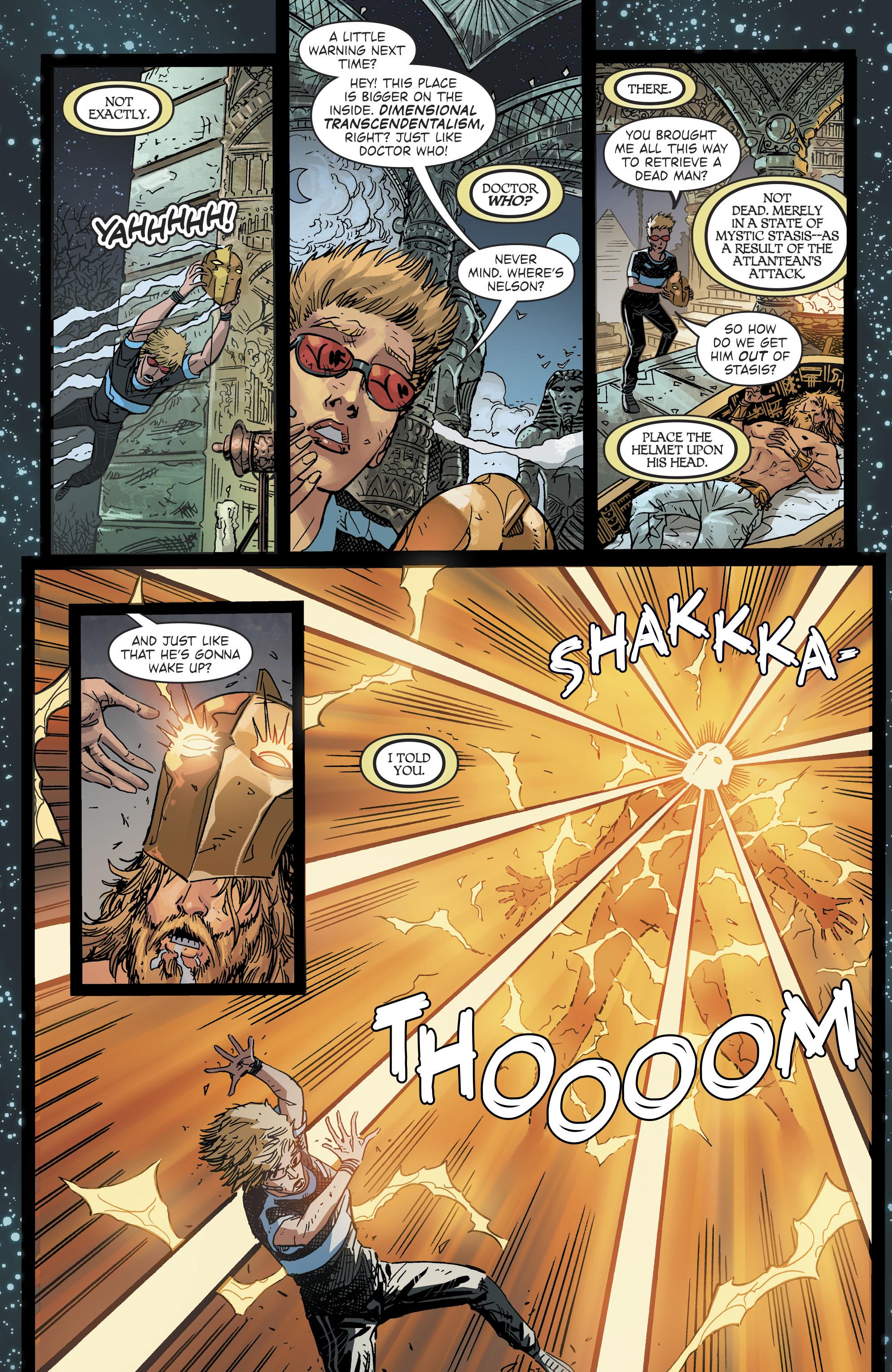 Read online Blue Beetle (2016) comic -  Issue #9 - 21