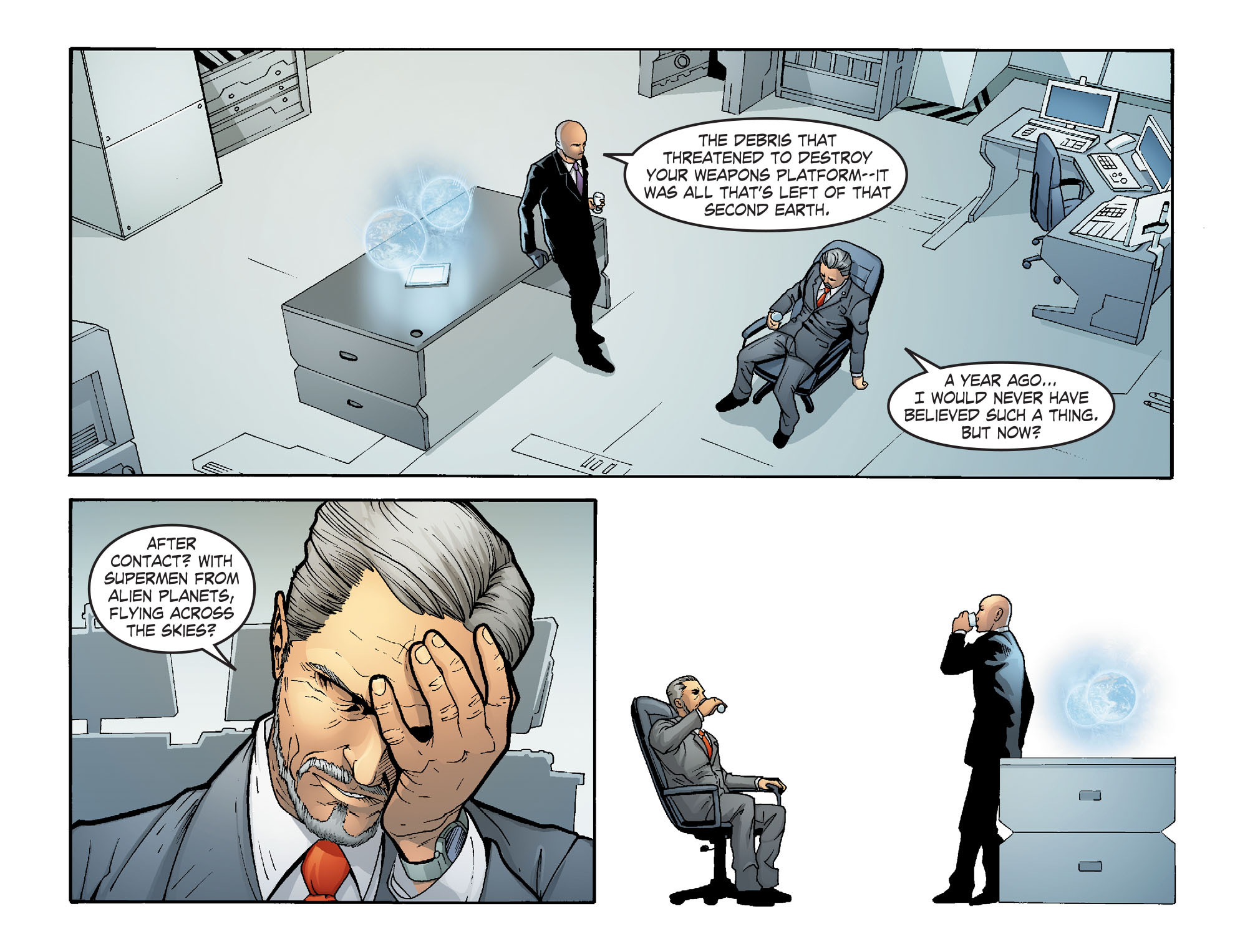 Read online Smallville: Alien comic -  Issue #5 - 6