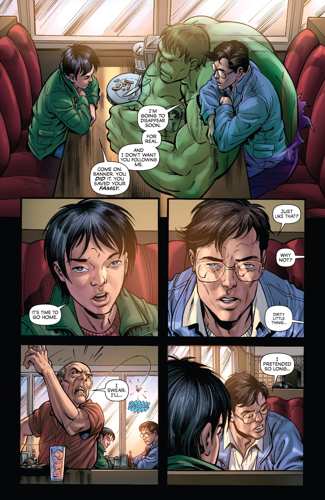 Read online Incredible Hulks (2010) comic -  Issue # _TPB Heart of the Monster - 132