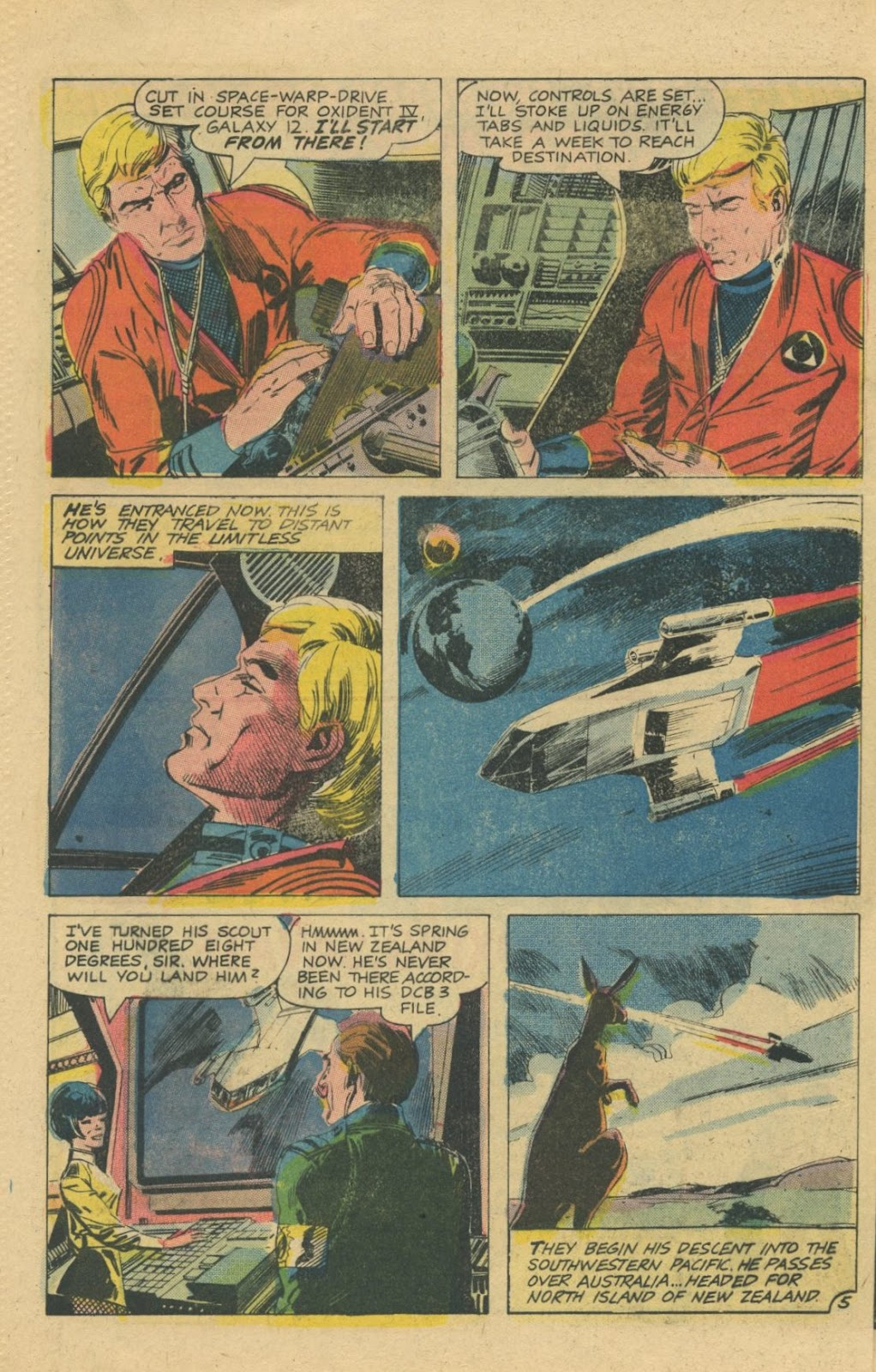 Space Adventures (1968) issue 8 - Page 8