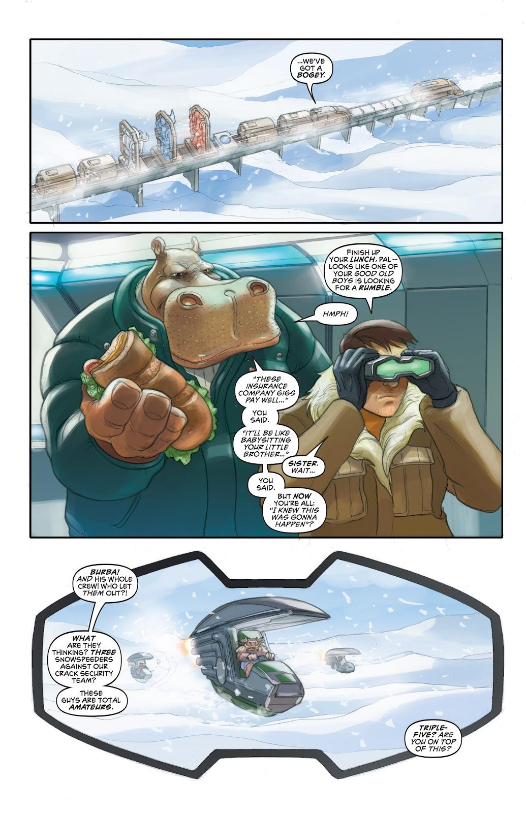 Read online Elephantmen 2261 Season Two: The Pentalion Job comic -  Issue # TPB - 31
