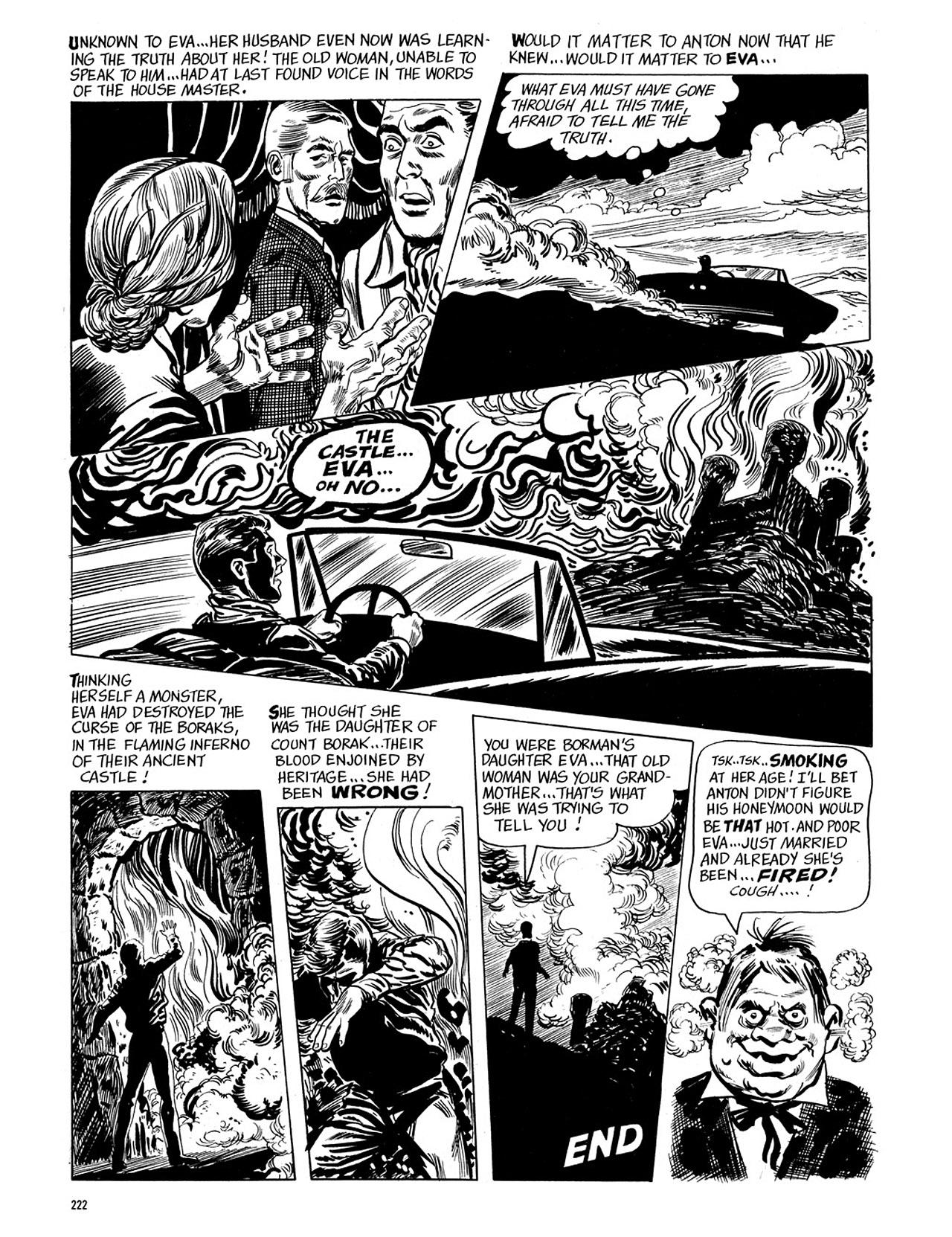 Read online Eerie Archives comic -  Issue # TPB 4 - 222