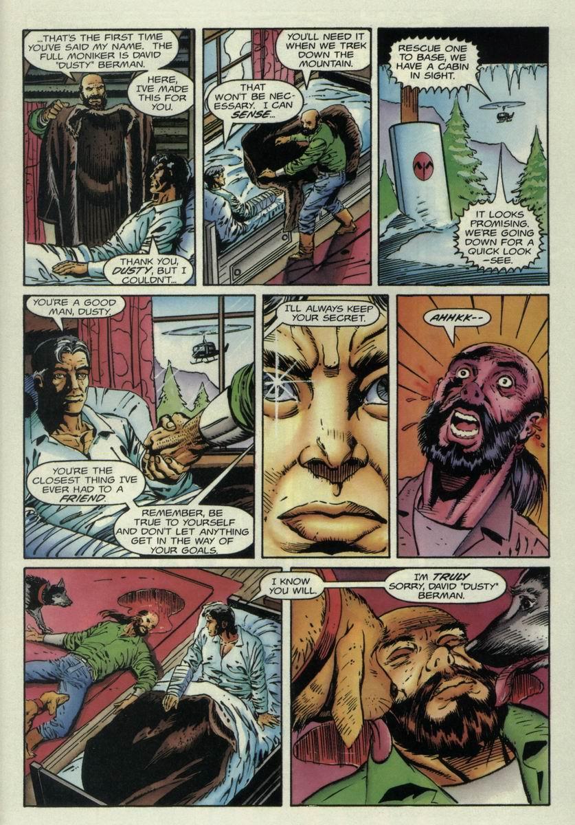 Read online Harbinger Files comic -  Issue #1 - 20