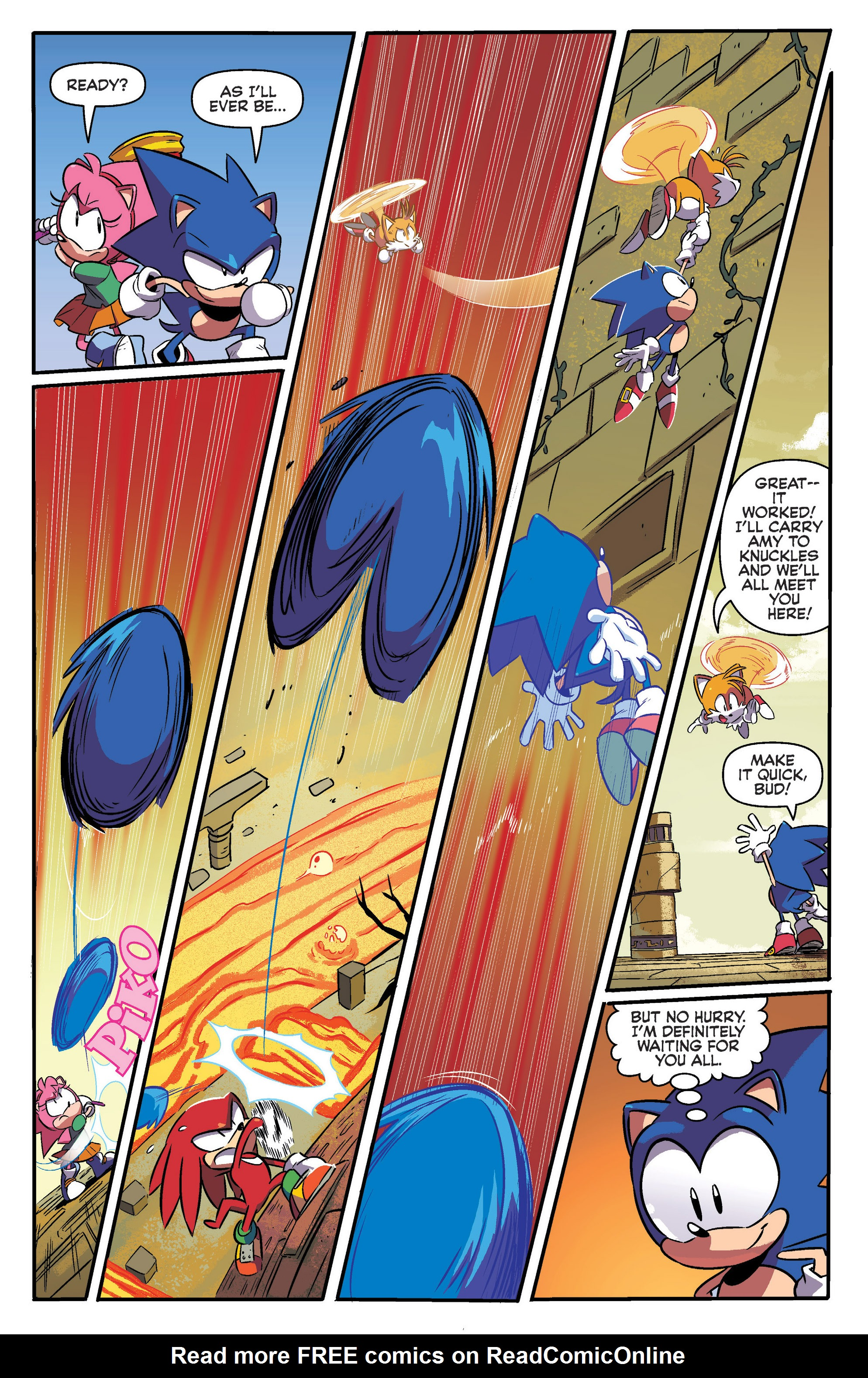 Read online Sonic: Mega Drive - The Next Level comic -  Issue # Full - 17