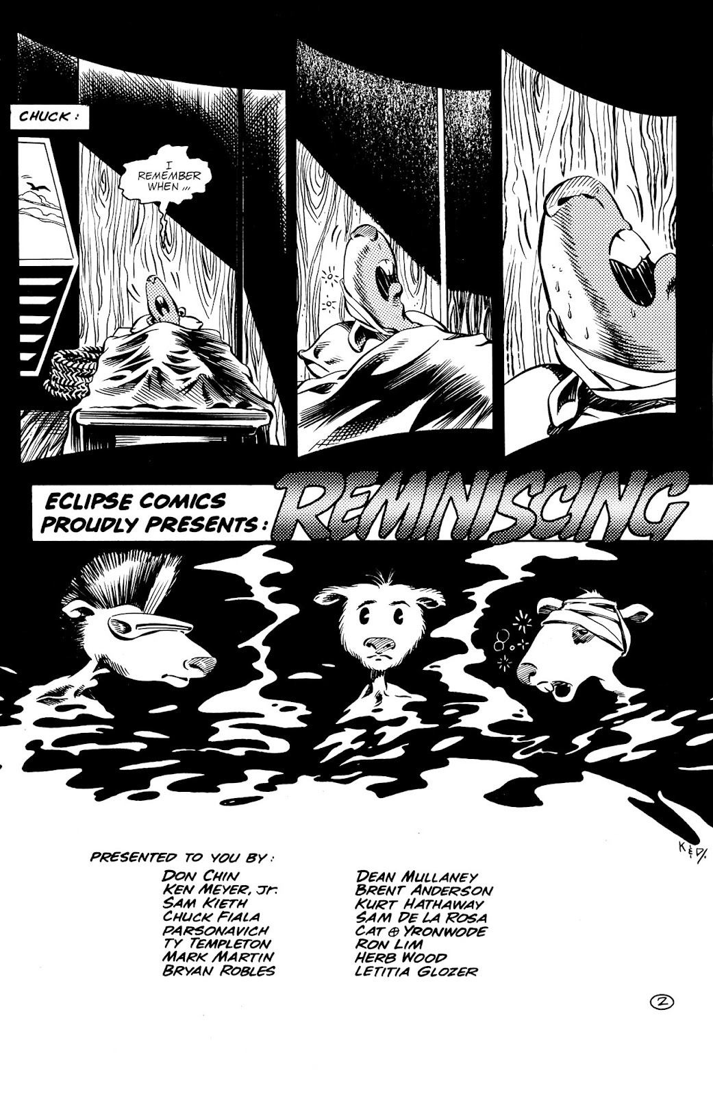 Adolescent Radioactive Black Belt Hamsters (1986) issue 9 - Page 4