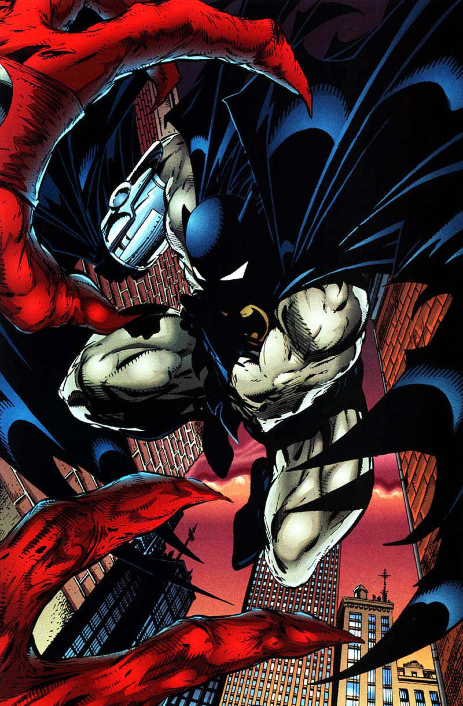 Read online Spawn-Batman comic -  Issue # Full - 32