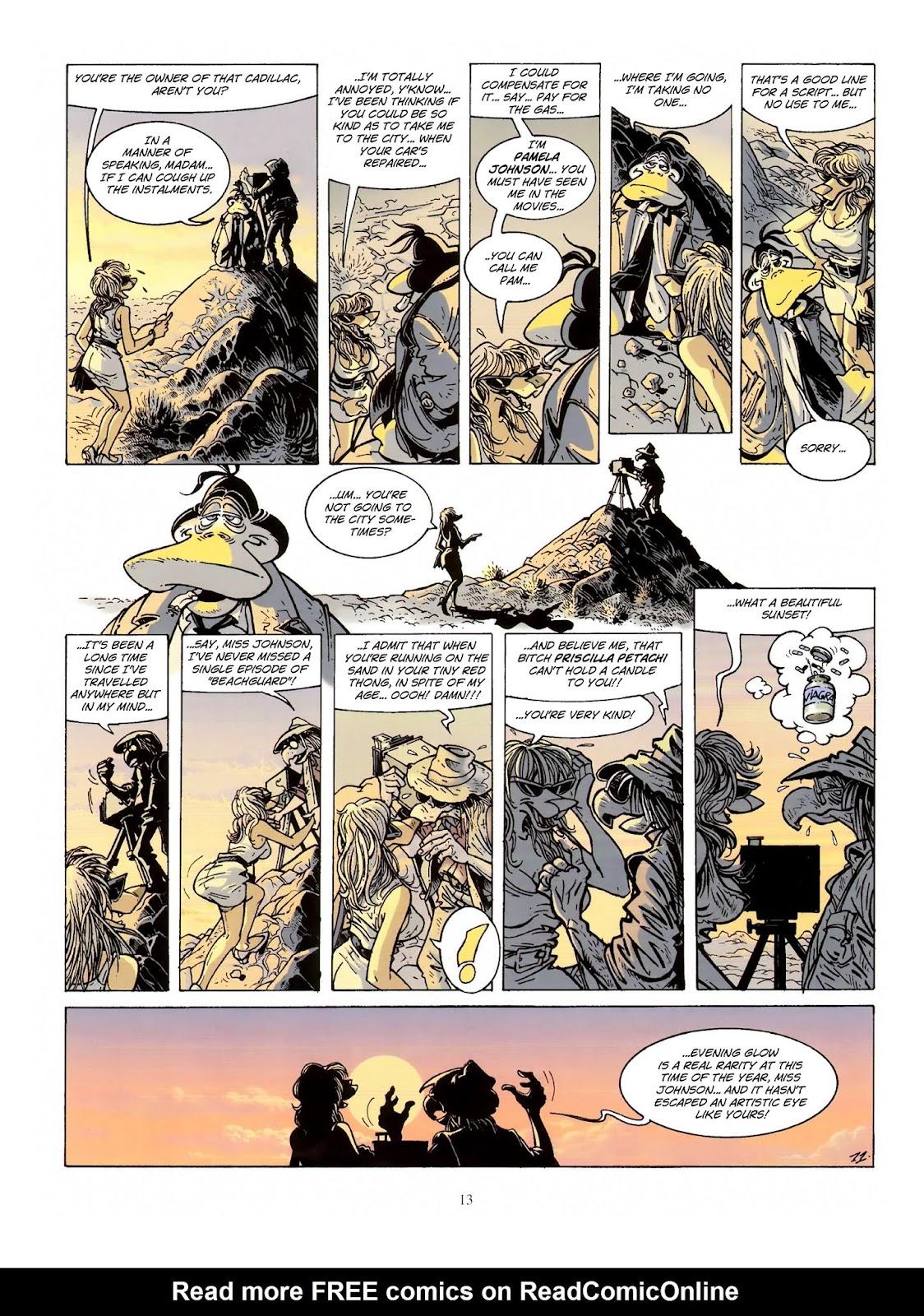 Une enquête de l'inspecteur Canardo issue 10 - Page 14