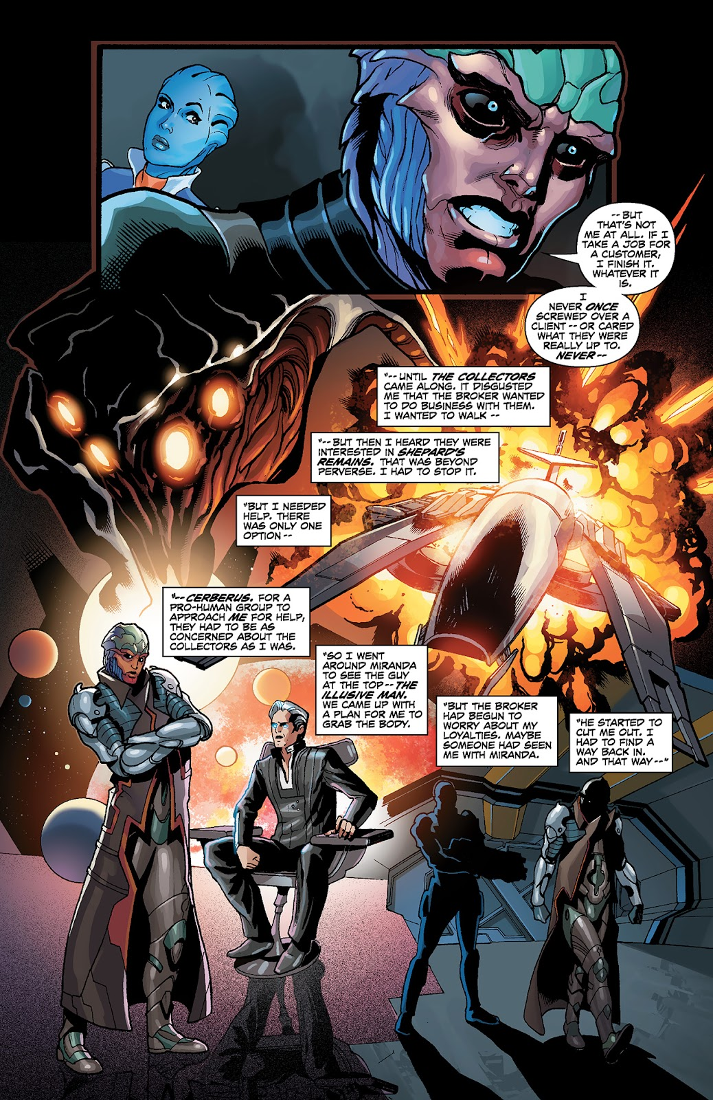 Mass Effect: Redemption Issue #4 #4 - English 8