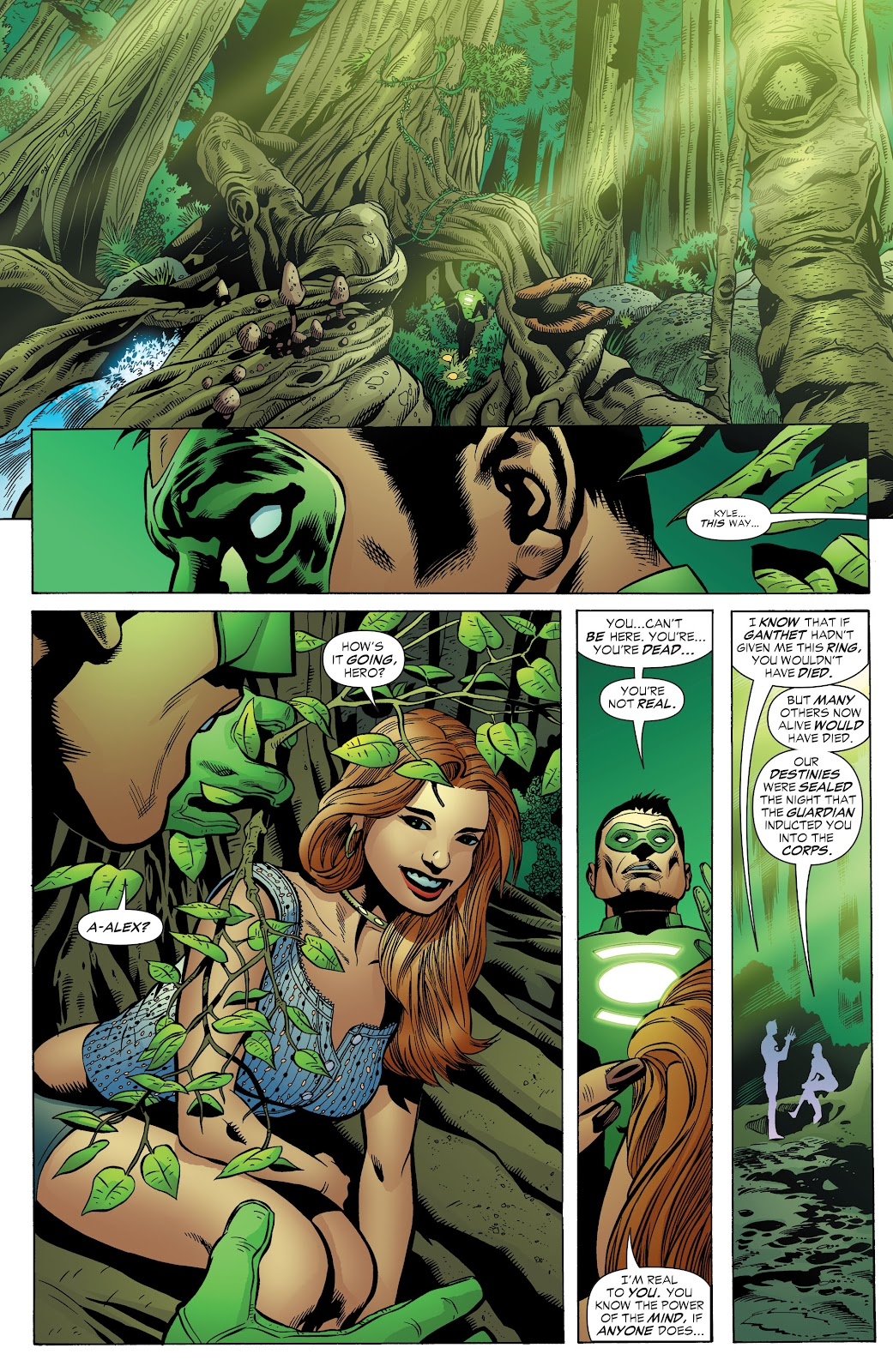 Read online Green Lantern by Geoff Johns comic -  Issue # TPB 1 (Part 3) - 20
