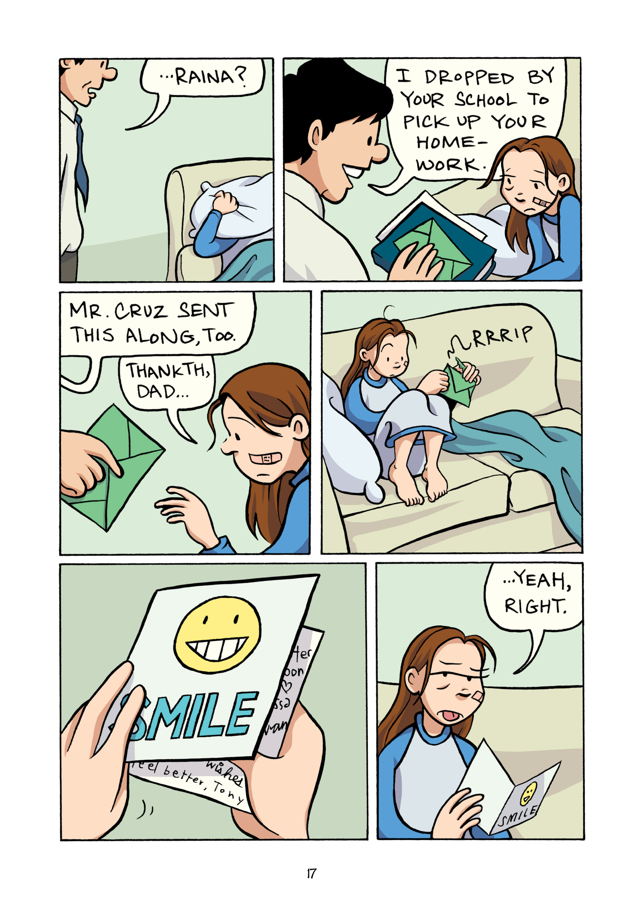 Read online Smile comic -  Issue # TPB - 23