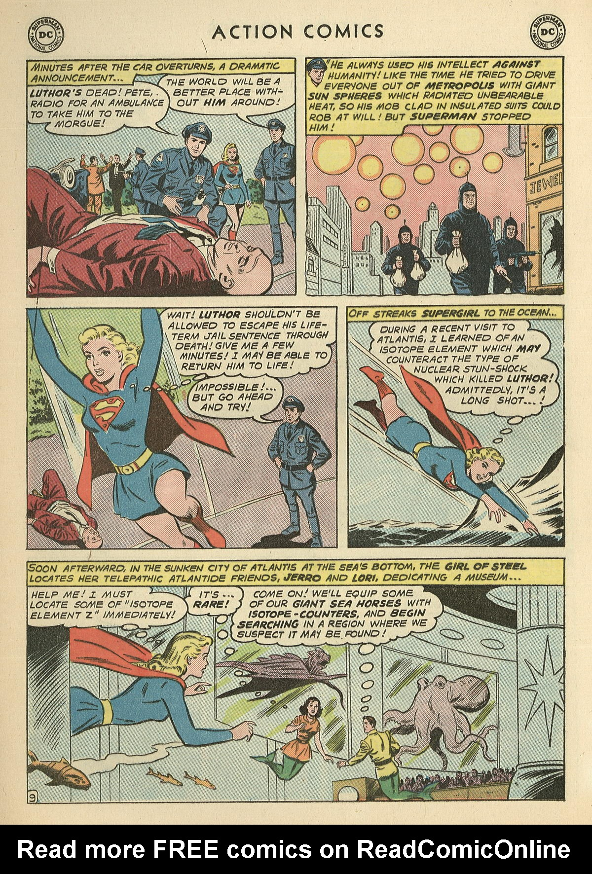Read online Action Comics (1938) comic -  Issue #286 - 28