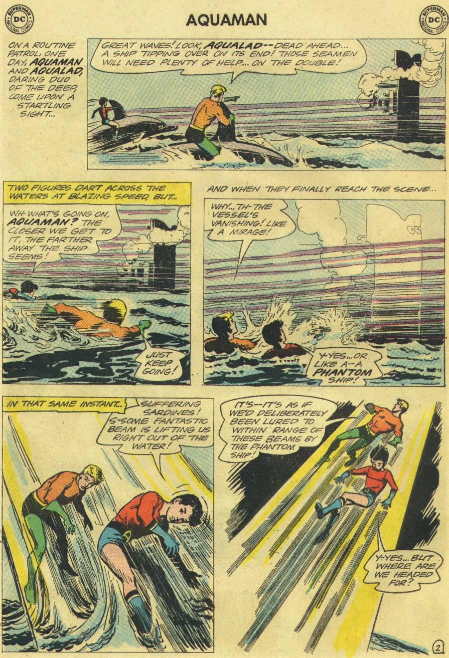 Read online Aquaman (1962) comic -  Issue #12 - 20