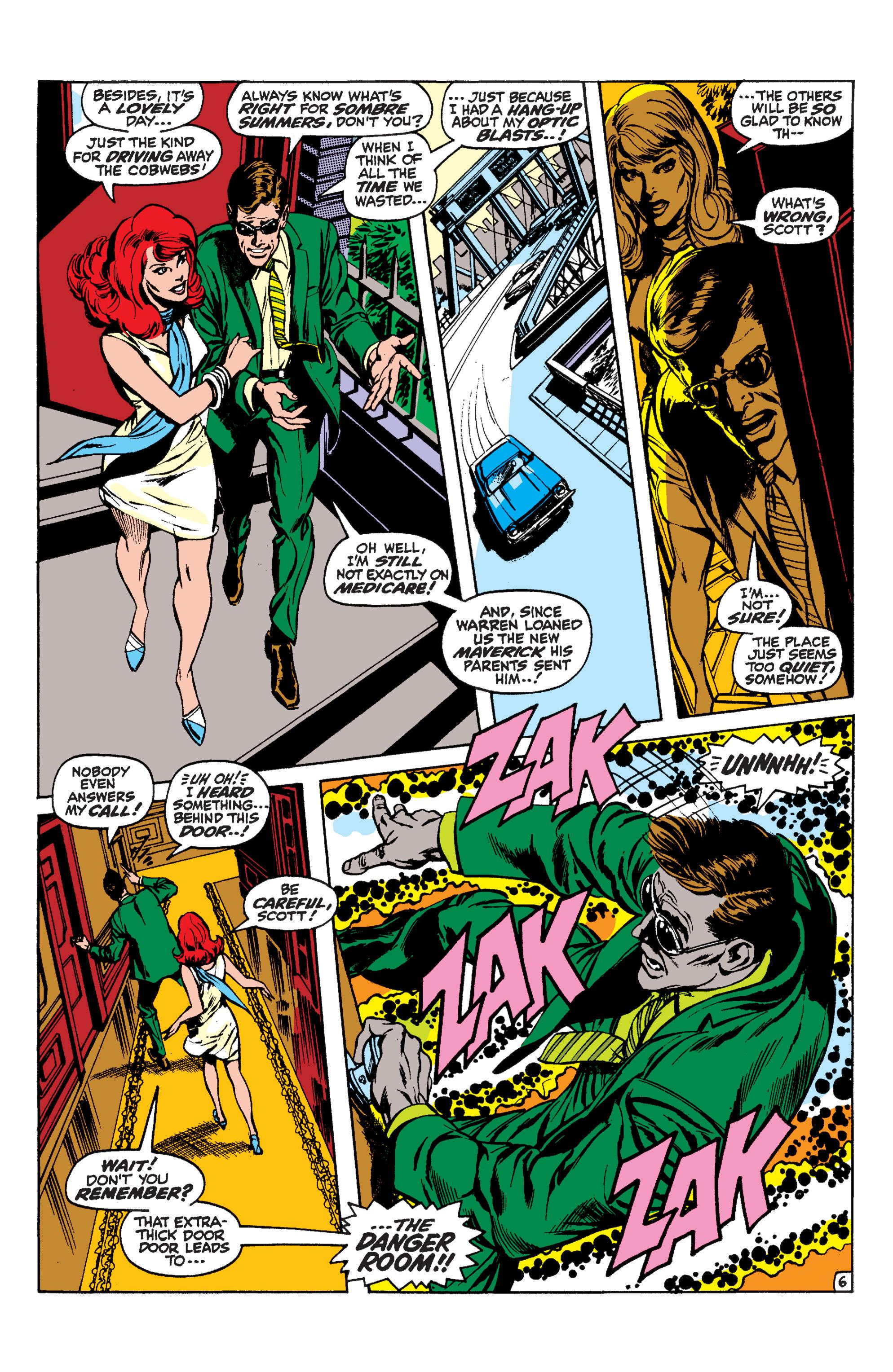 Read online Uncanny X-Men (1963) comic -  Issue #60 - 6