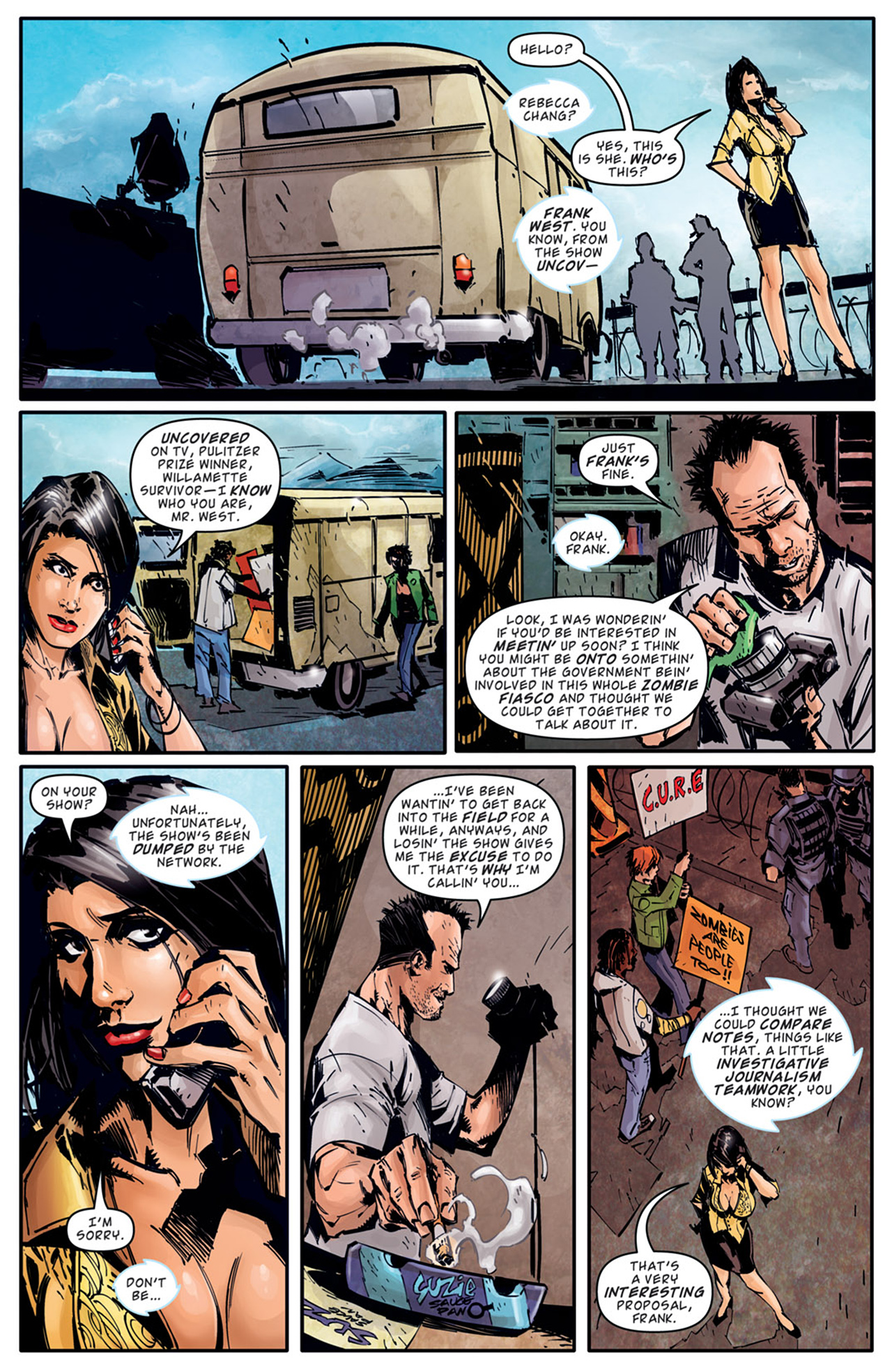 Read online Dead Rising: Road to Fortune comic -  Issue # TPB - 39