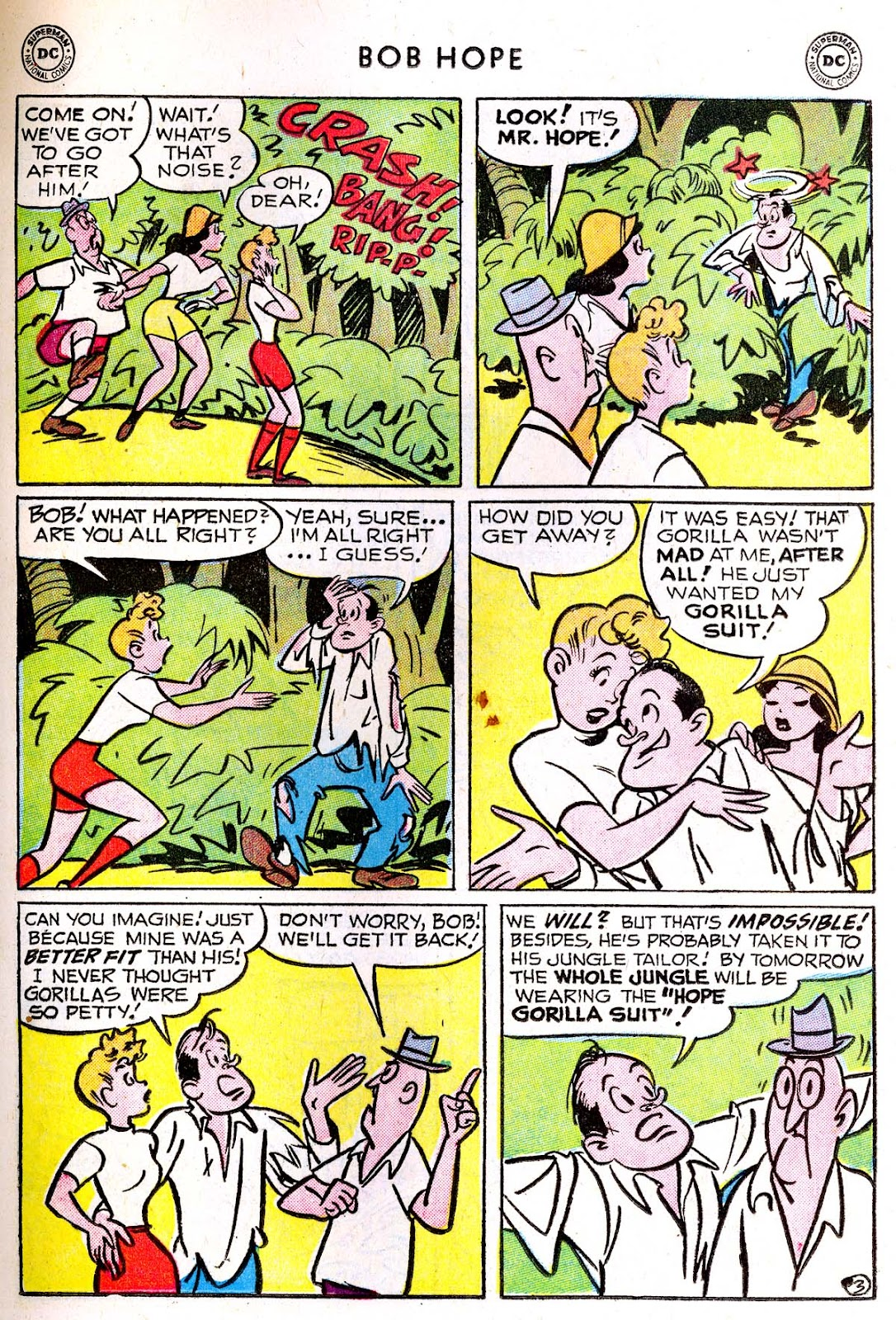 The Adventures of Bob Hope issue 33 - Page 17