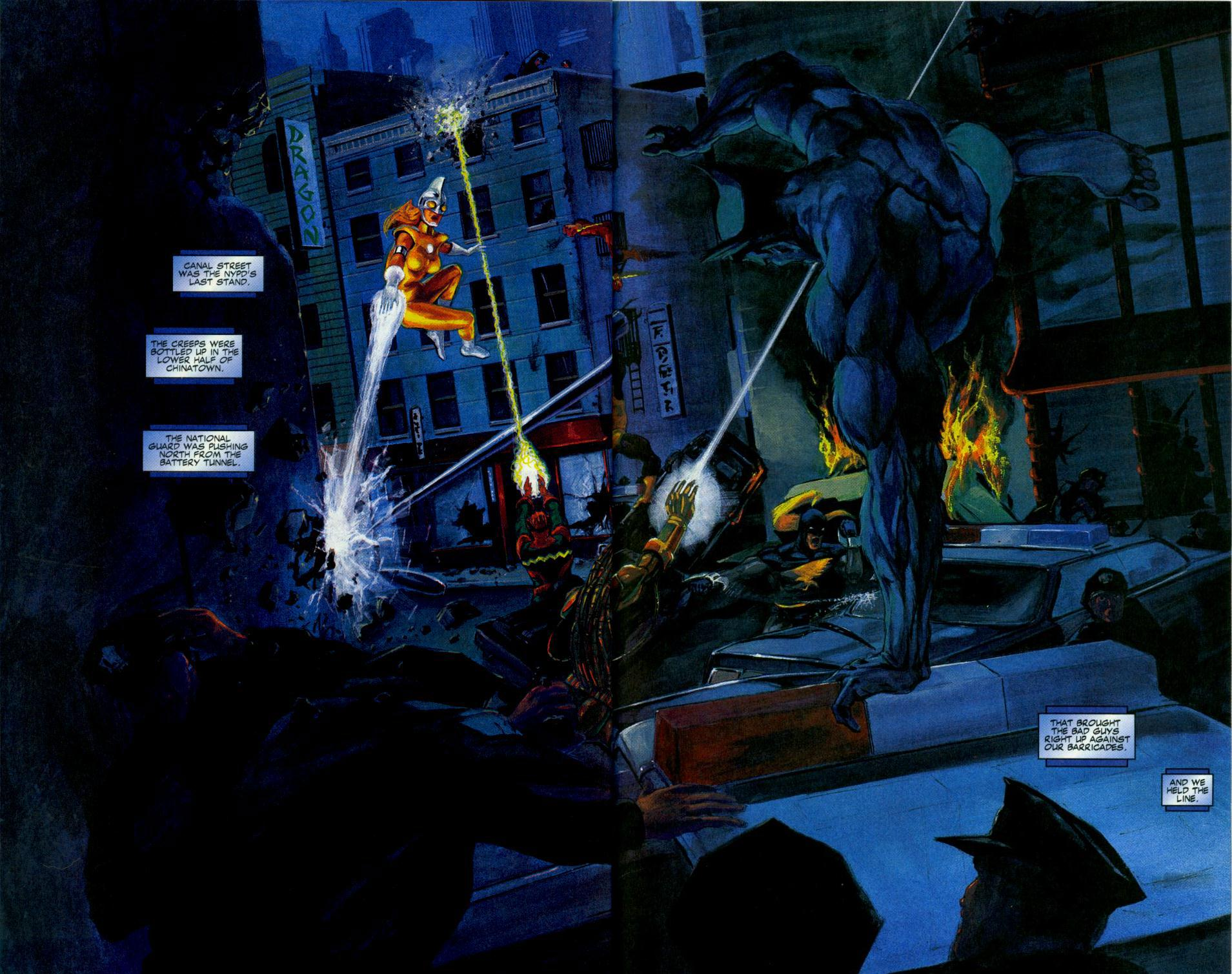 Read online Code of Honor comic -  Issue #3 - 33