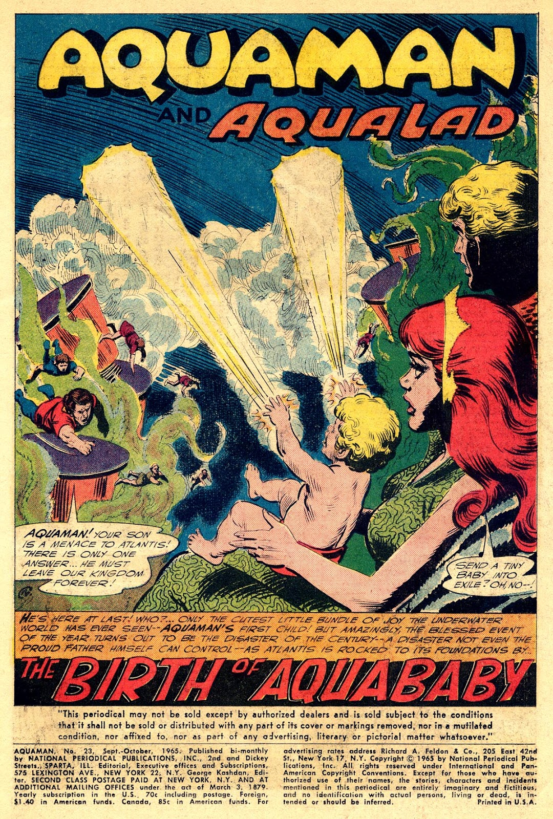 Aquaman (1962) Issue #23 #23 - English 3