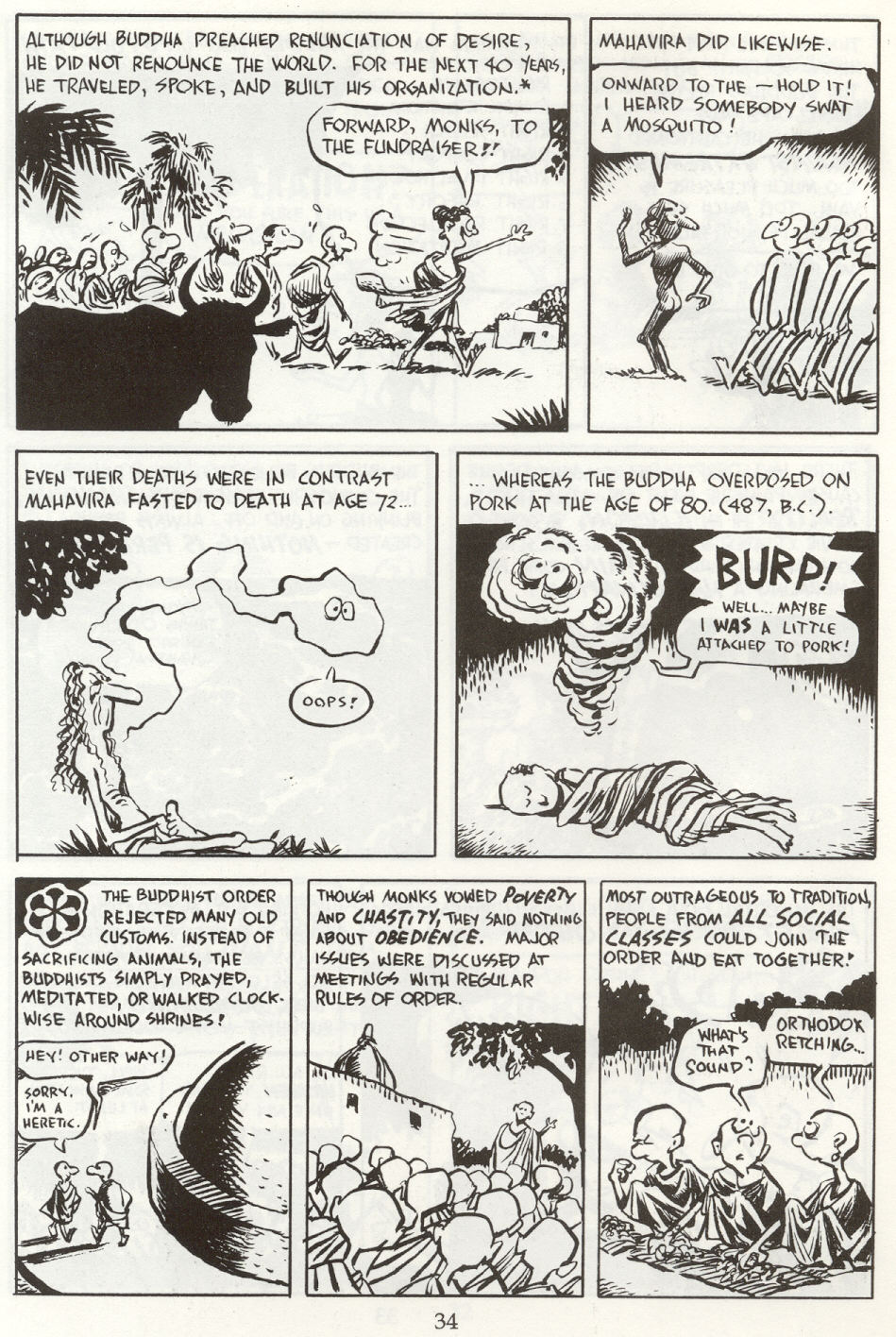 Read online The Cartoon History of the Universe comic -  Issue #8 - 37