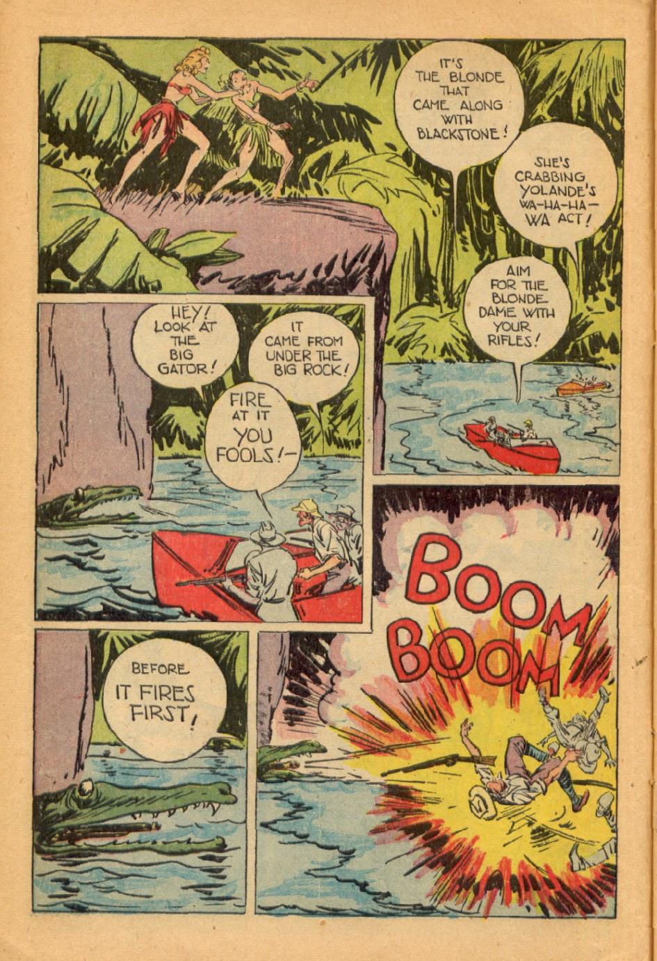 Read online Super-Magician Comics comic -  Issue #45 - 12