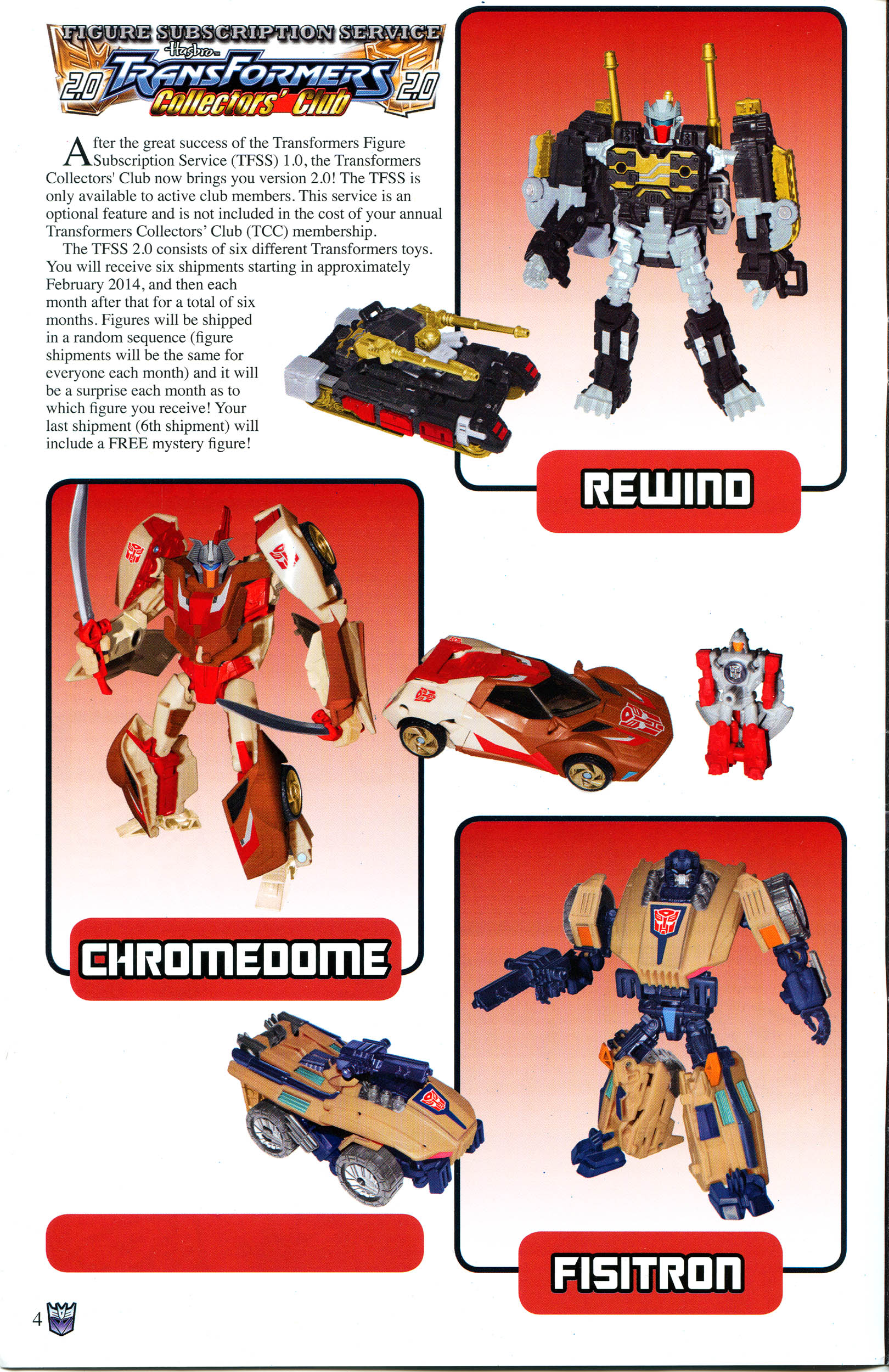 Read online Transformers: Collectors' Club comic -  Issue #53 - 4