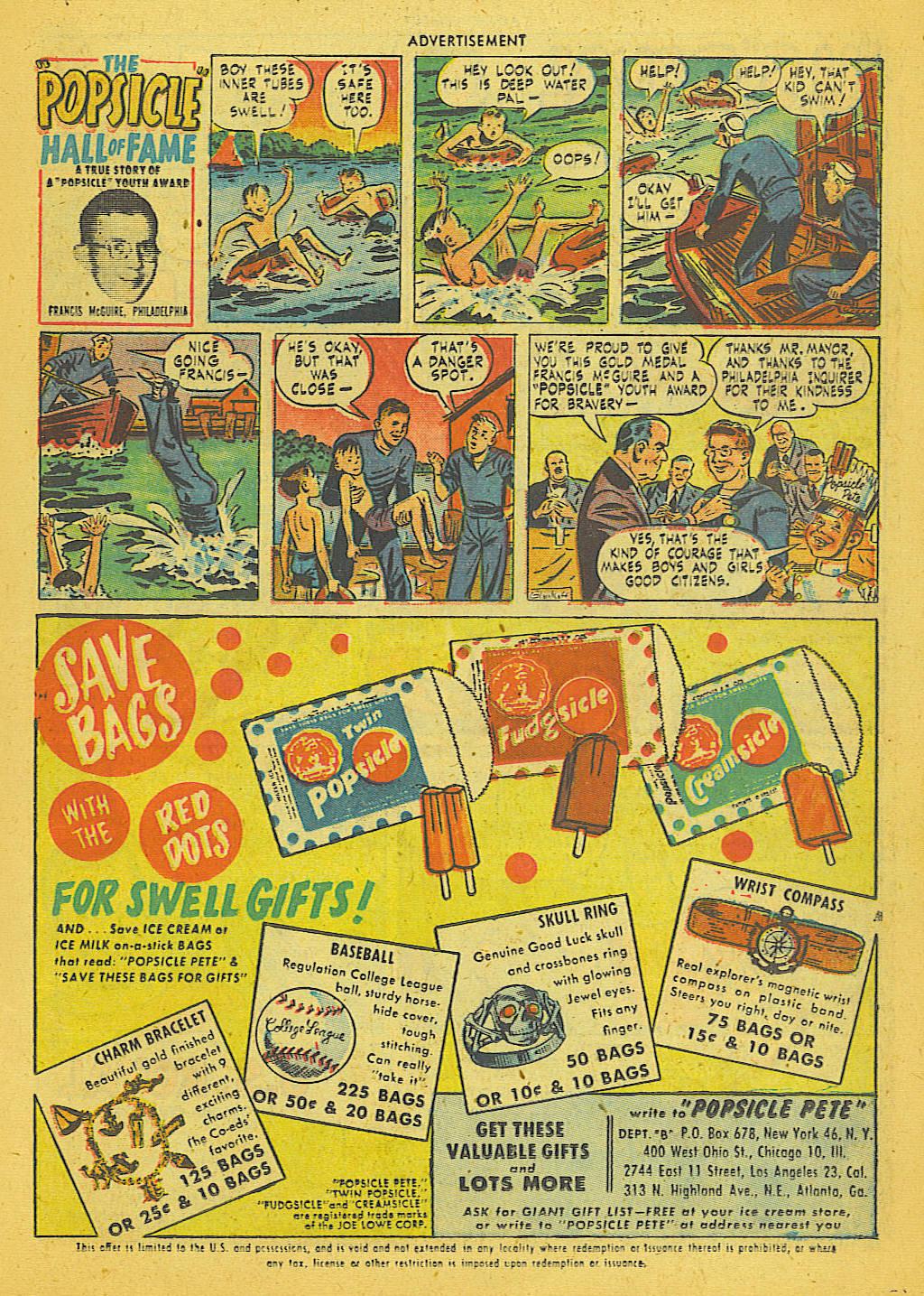 Read online Adventure Comics (1938) comic -  Issue #153 - 22