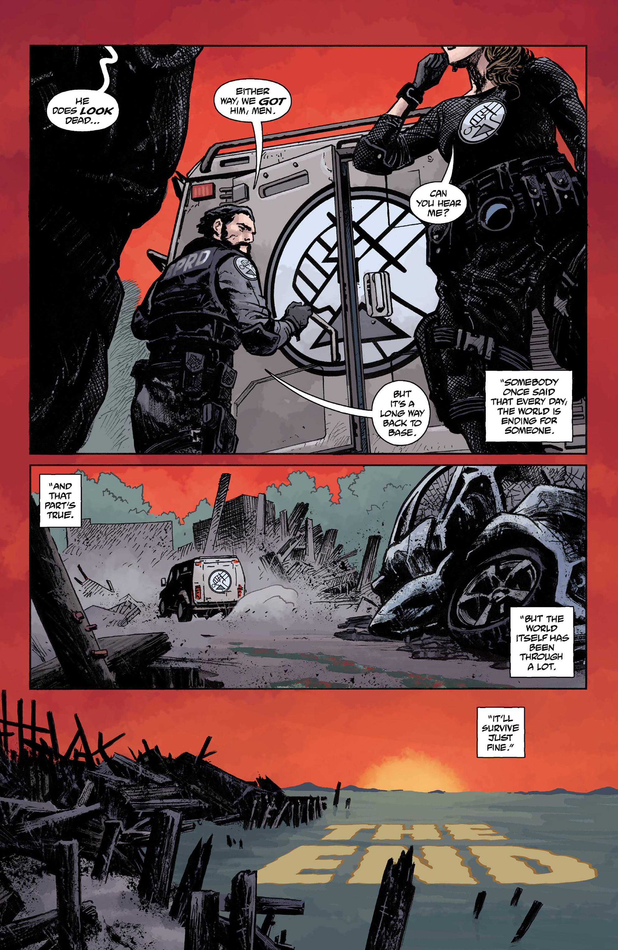 Read online Abe Sapien comic -  Issue #36 - 24