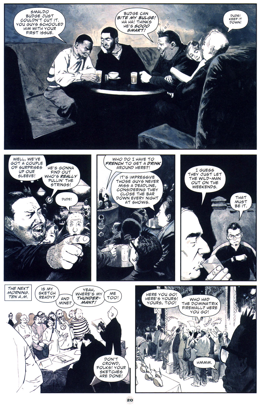 Read online Solo (2004) comic -  Issue #9 - 21