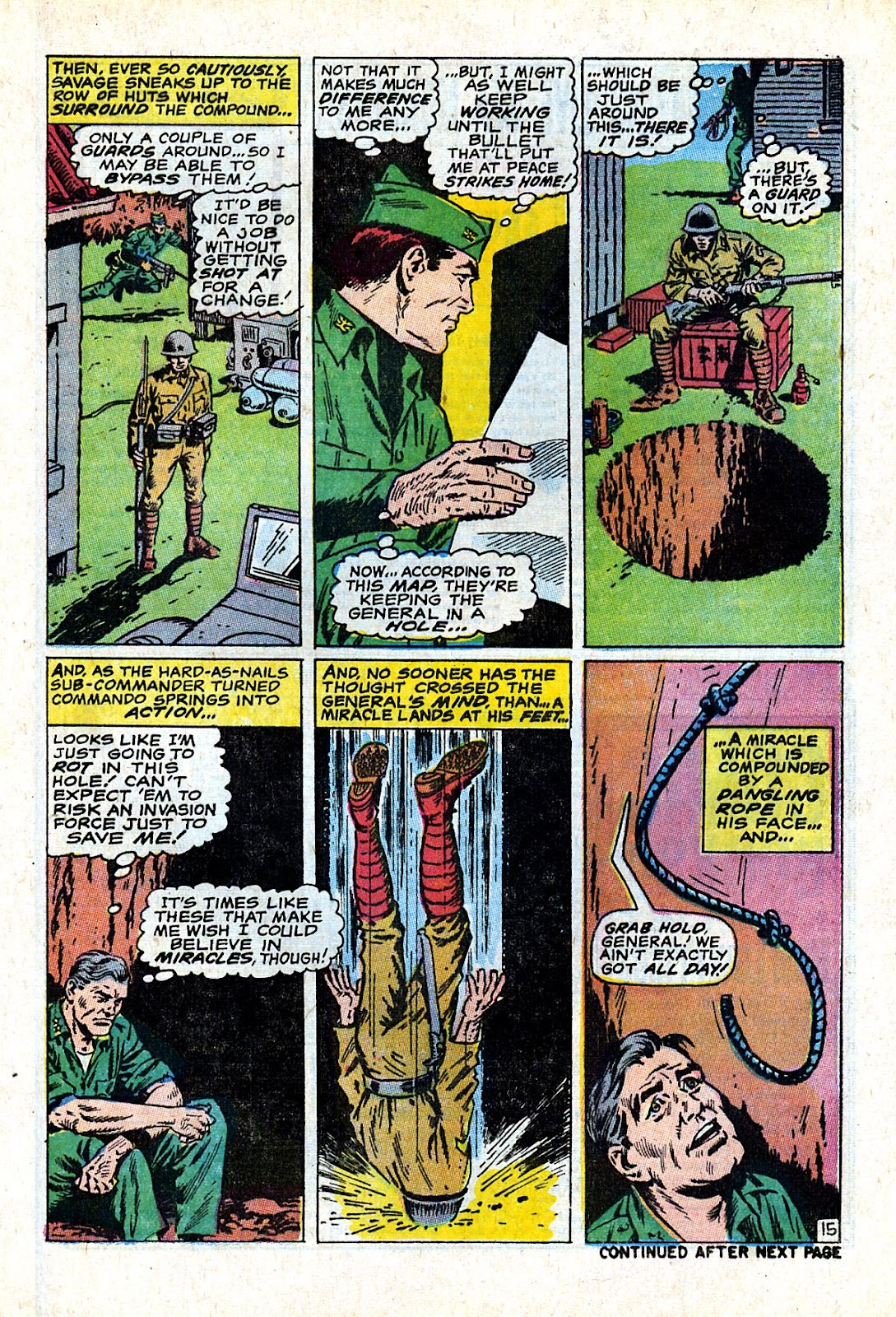 Captain Savage and his Leatherneck Raiders issue 18 - Page 21
