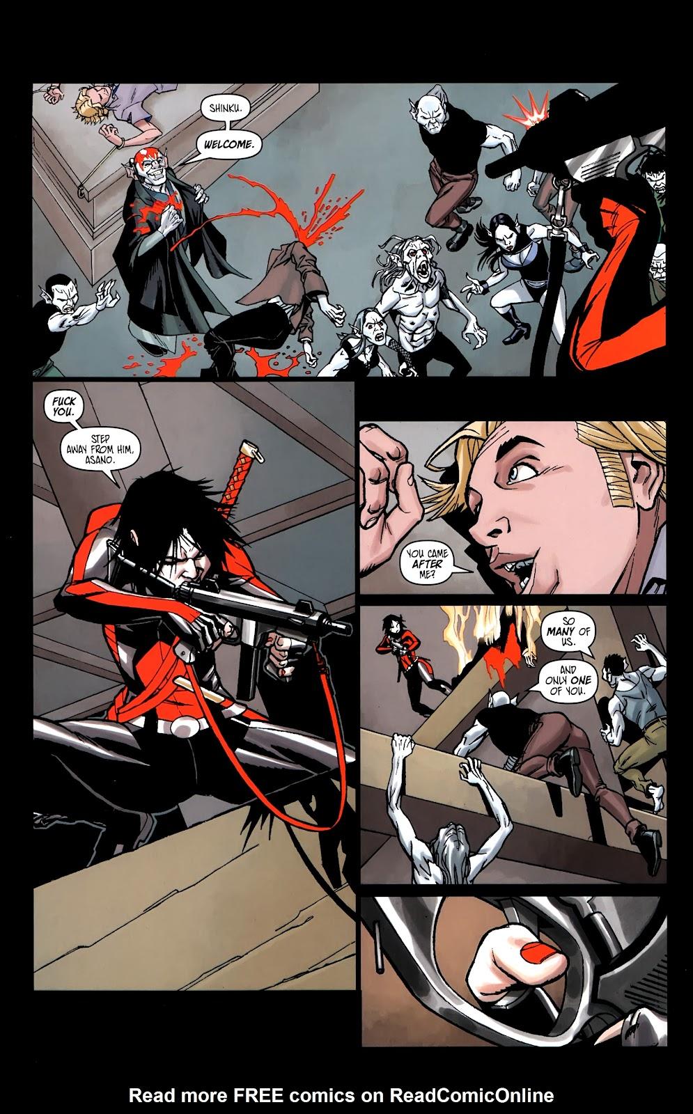 Read online Shinku comic -  Issue #5 - 13