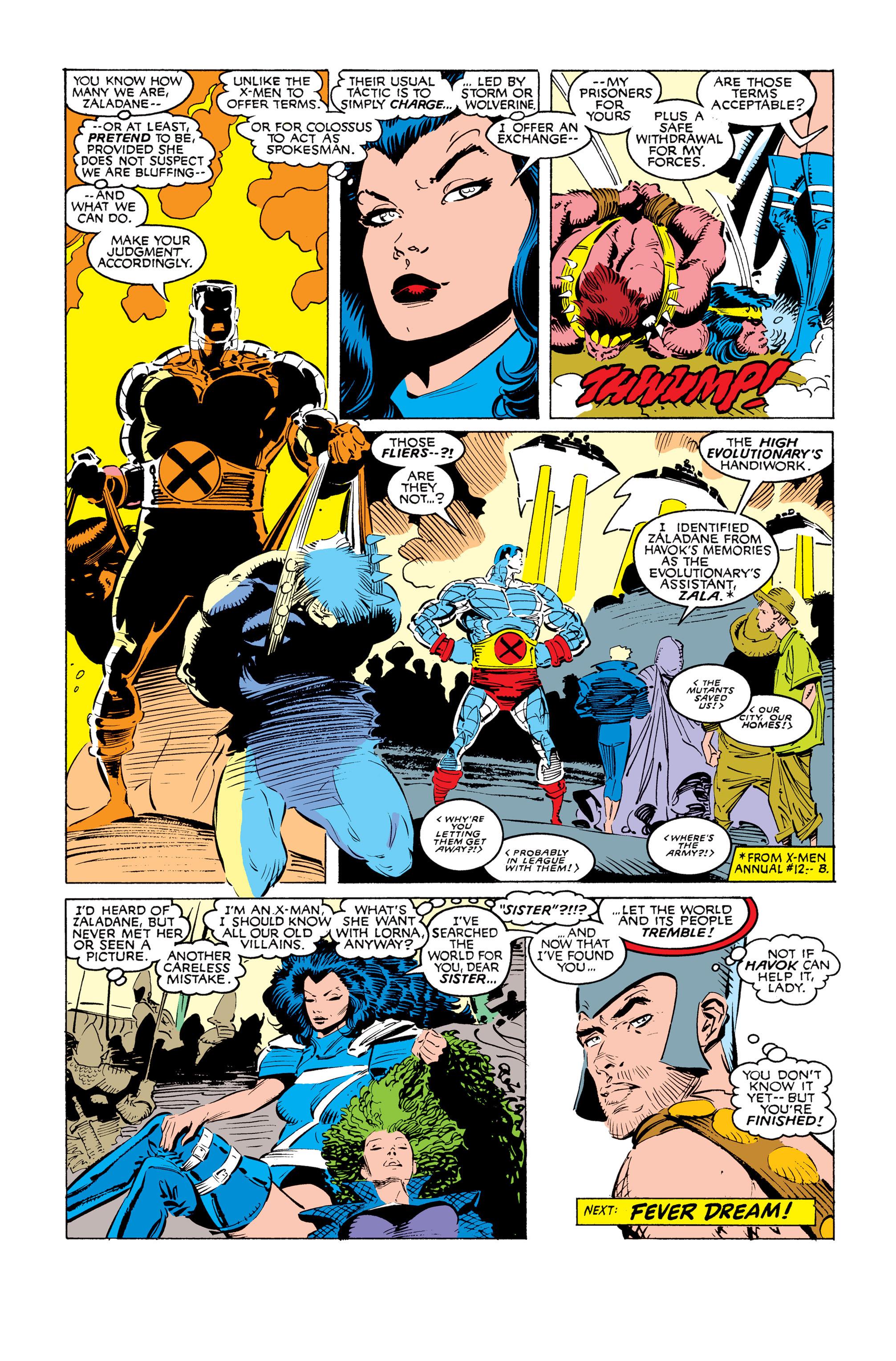 Read online Uncanny X-Men (1963) comic -  Issue #249 - 24