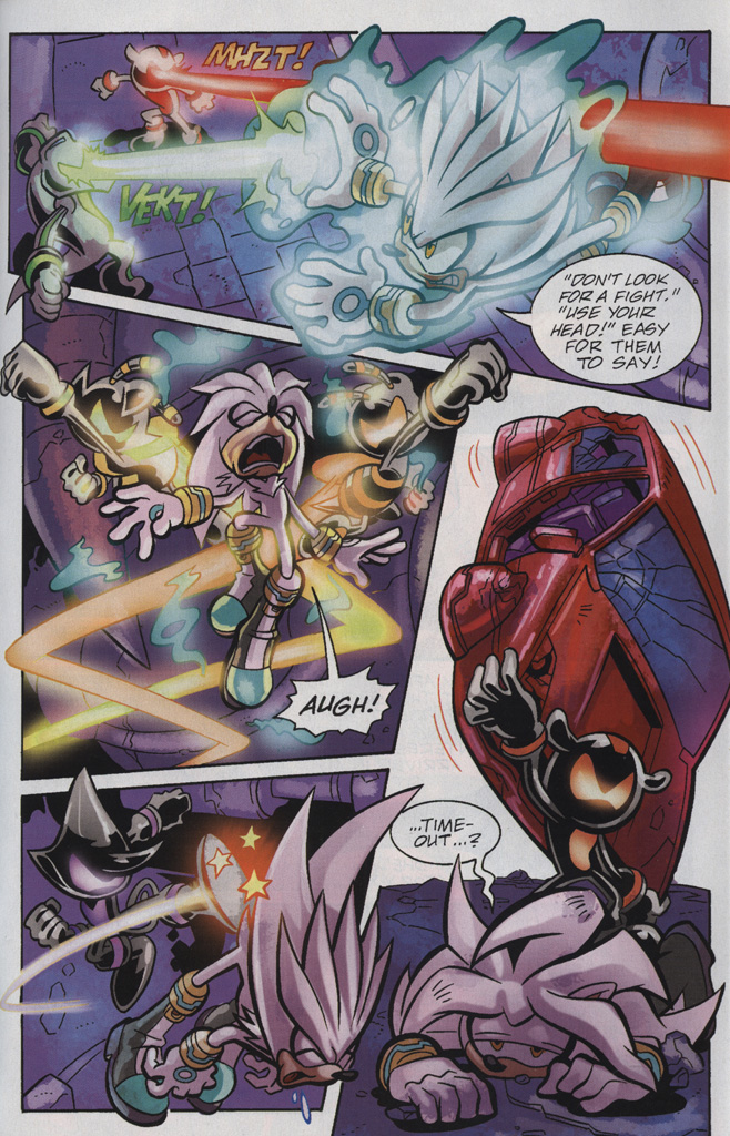 Read online Sonic Universe comic -  Issue #25 - 29