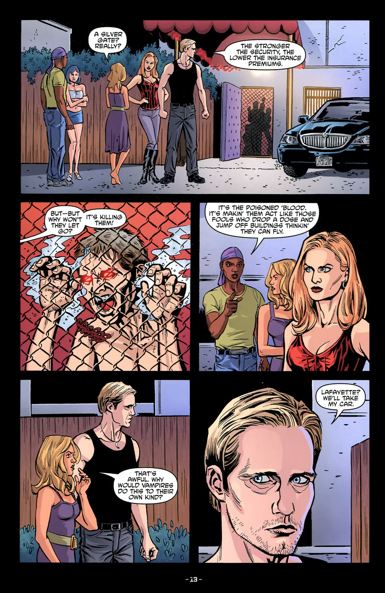 Read online True Blood: Tainted Love comic -  Issue #3 - 16