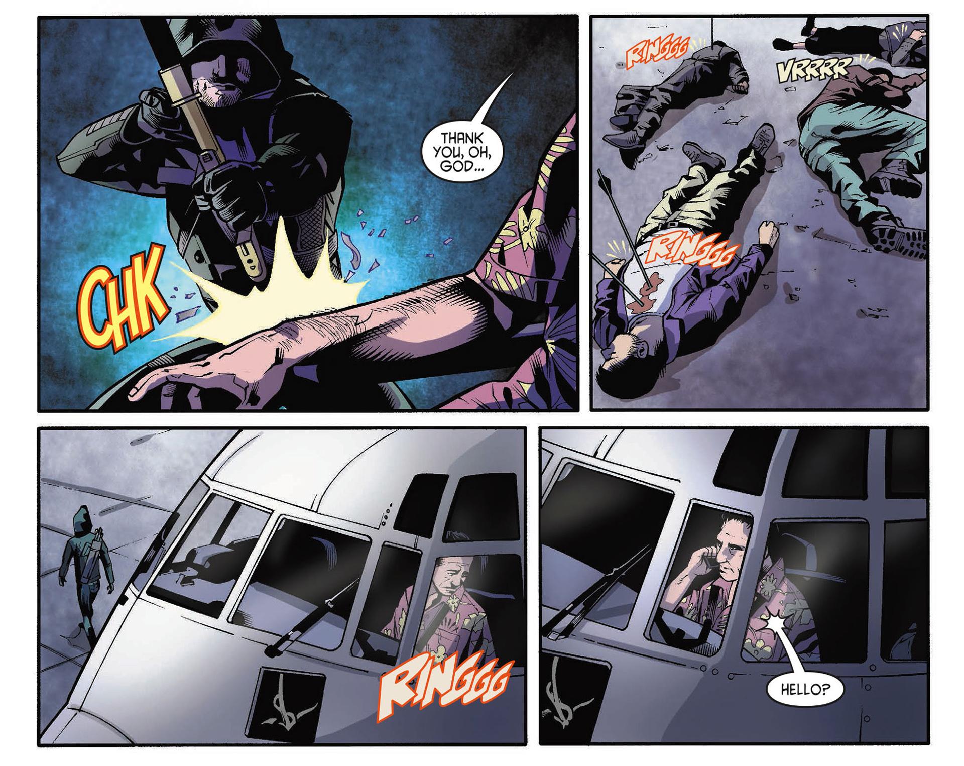 Read online Arrow [II] comic -  Issue #34 - 13