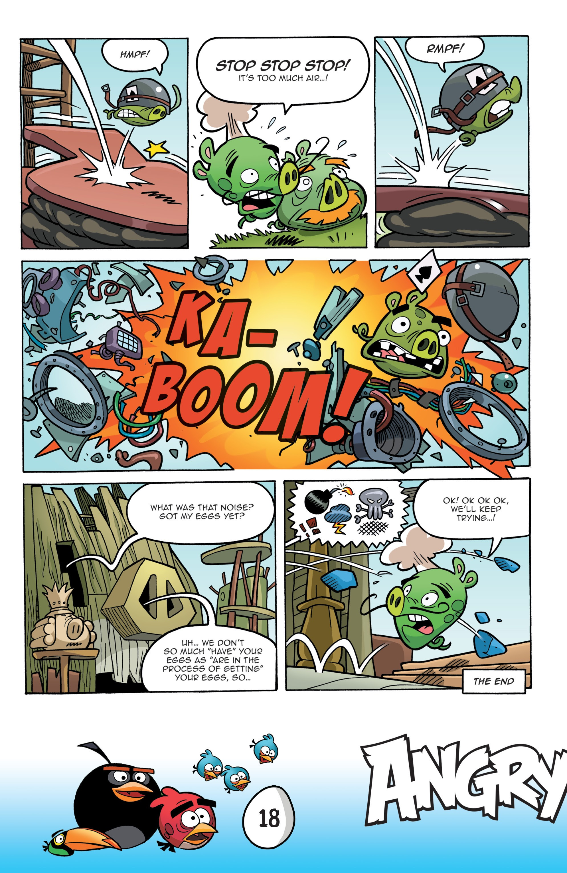 Read online Angry Birds Comics: Game Play comic -  Issue #1 - 20