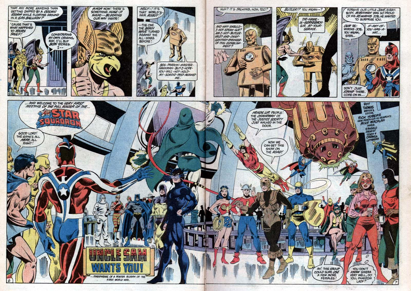 Read online All-Star Squadron comic -  Issue #31 - 9