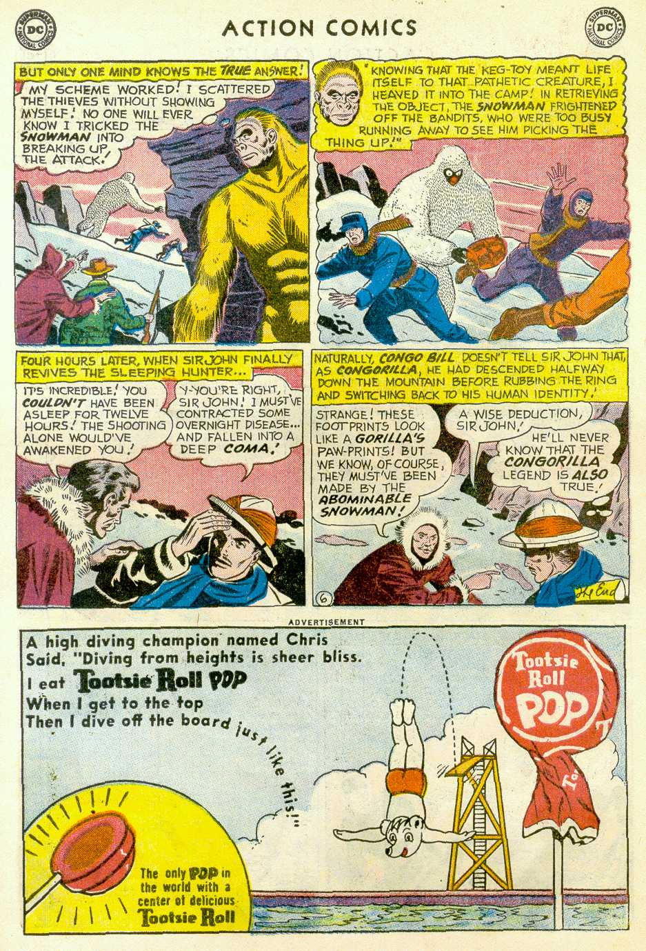 Read online Action Comics (1938) comic -  Issue #255 - 22