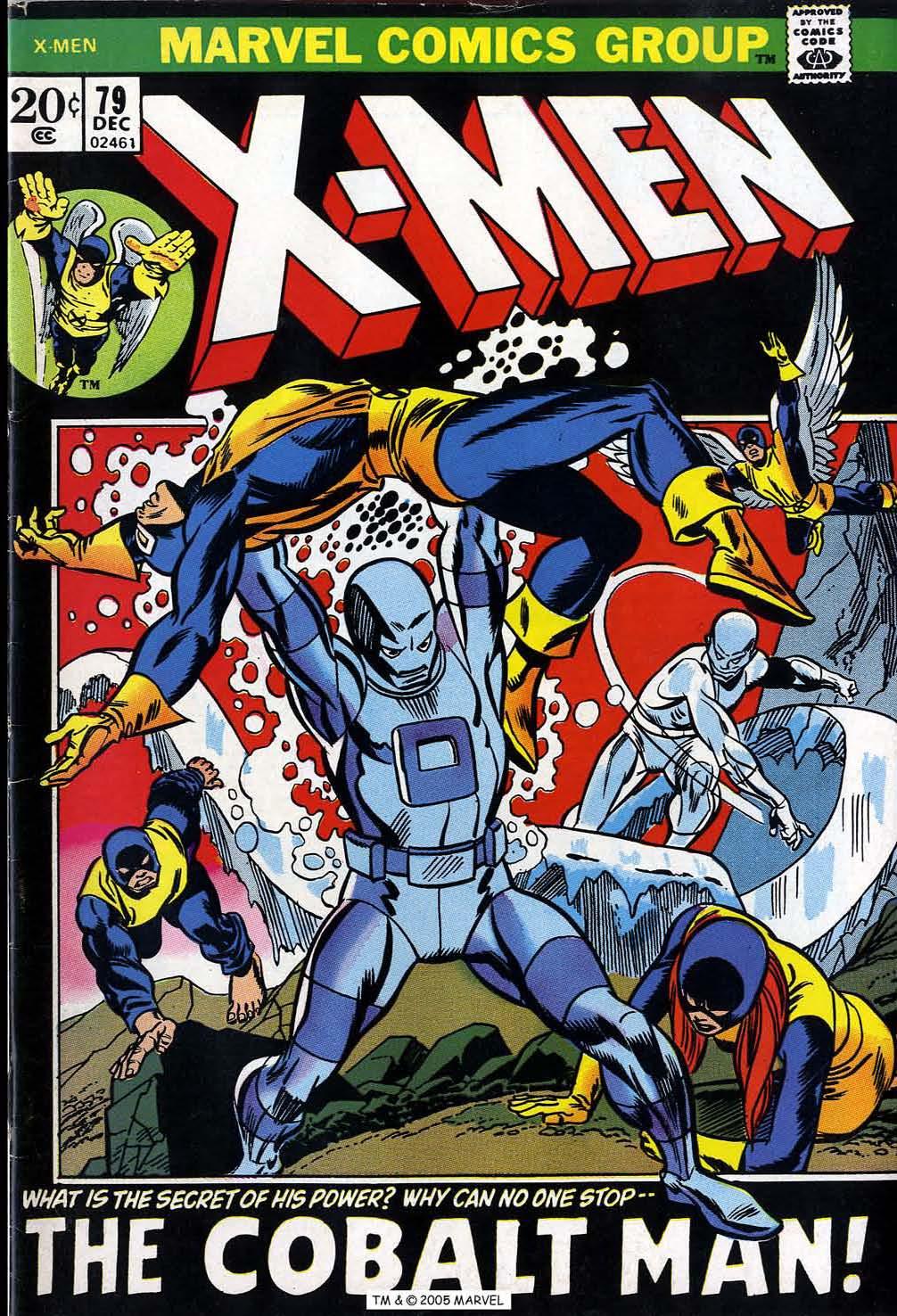Uncanny X-Men (1963) issue 79 - Page 1